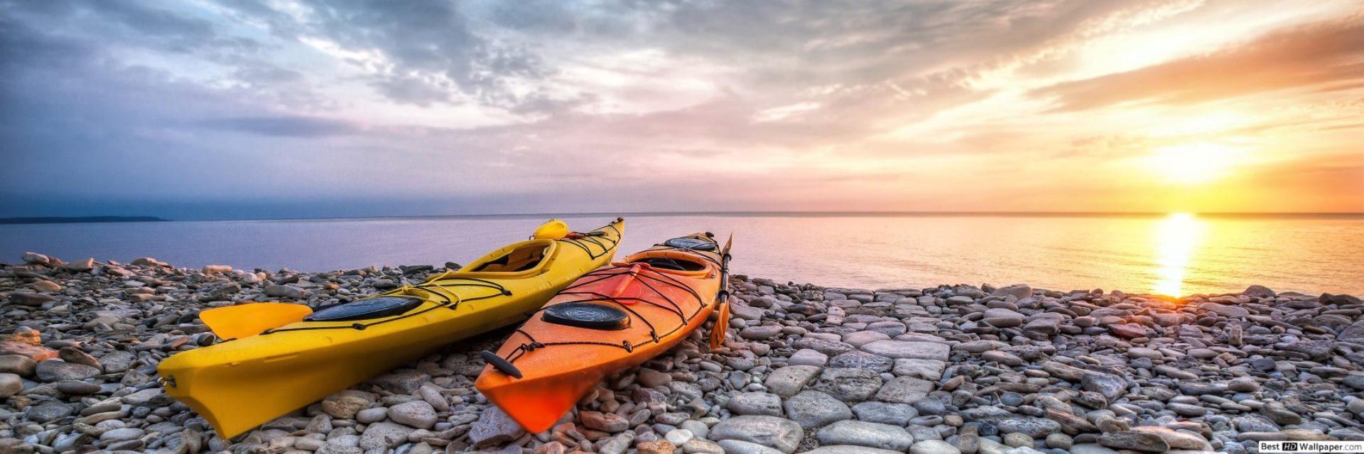 Canoa e Kayak su spiaggia
