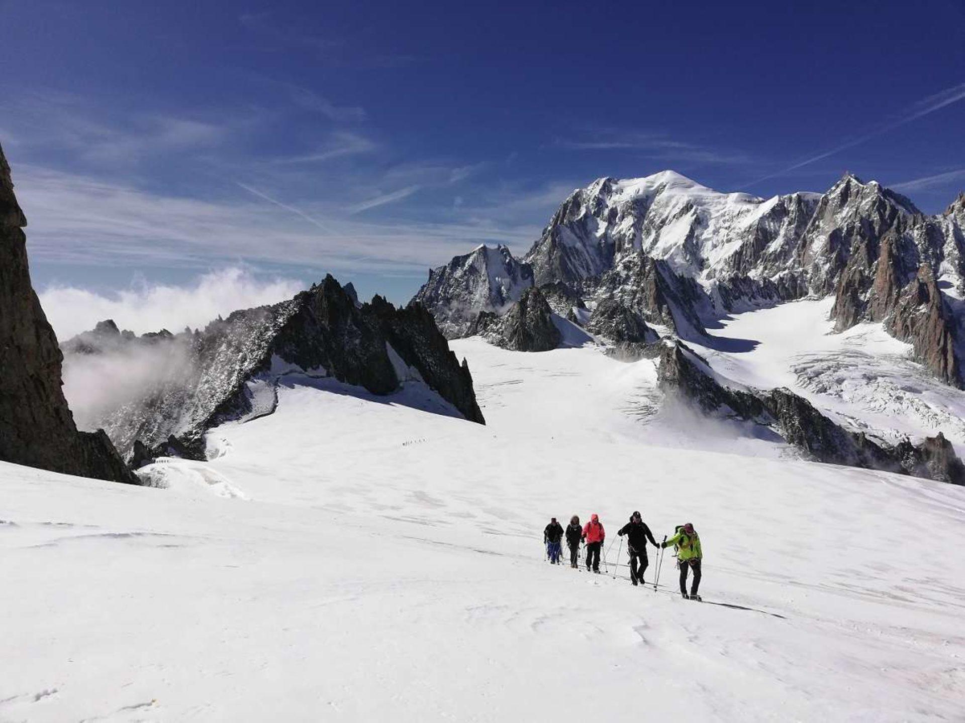 Alpinismo Monte Bianco