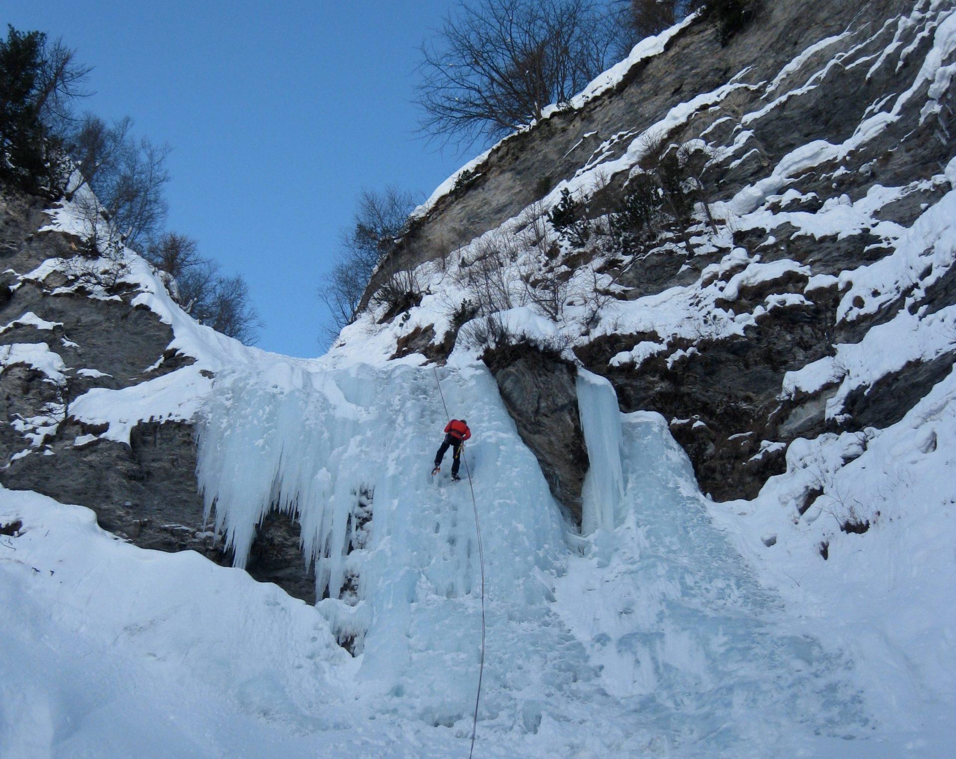 Arrampicata su ghiaccio Piemonte