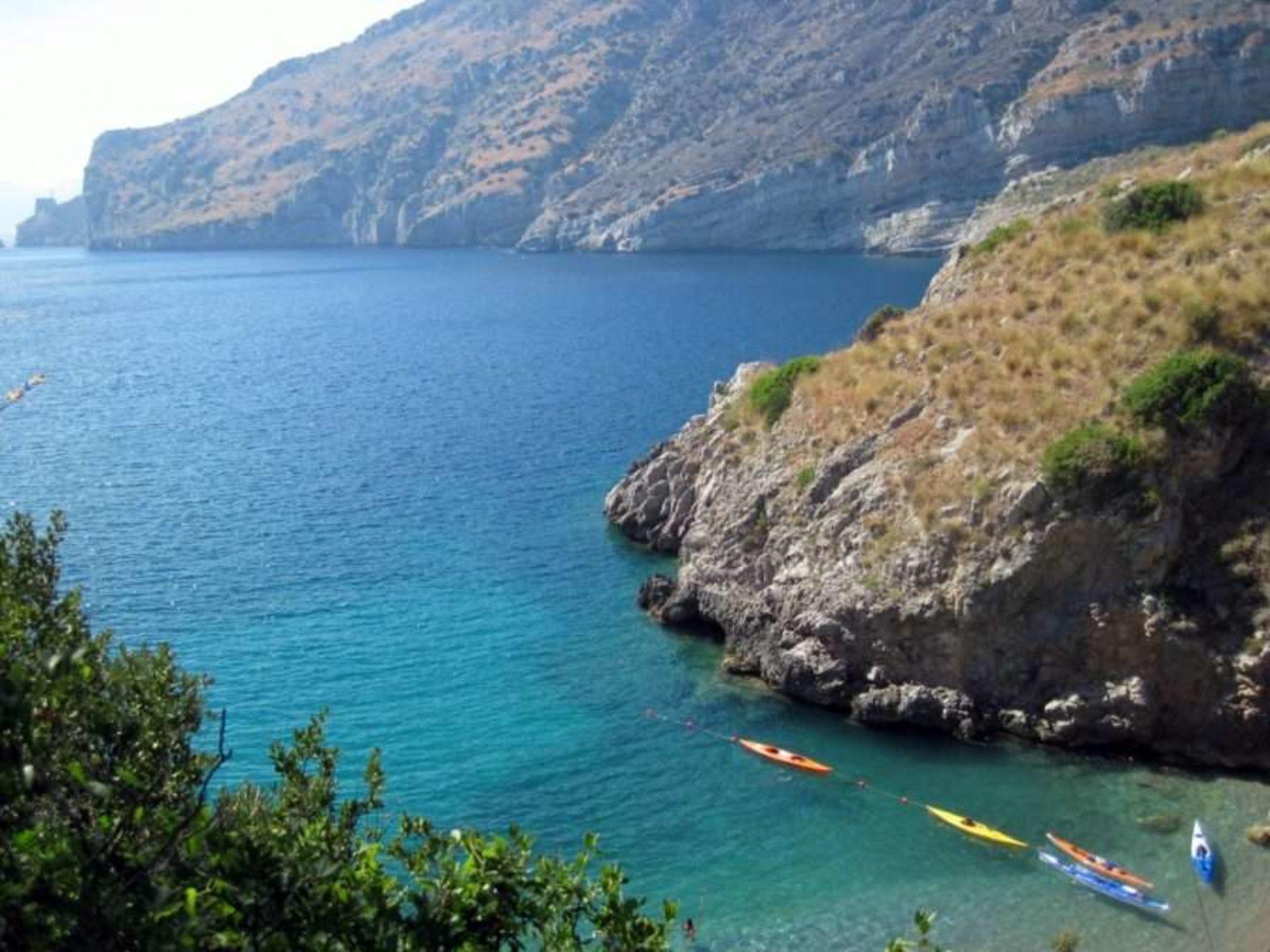 Canoa e kayak Baia di Ieranto