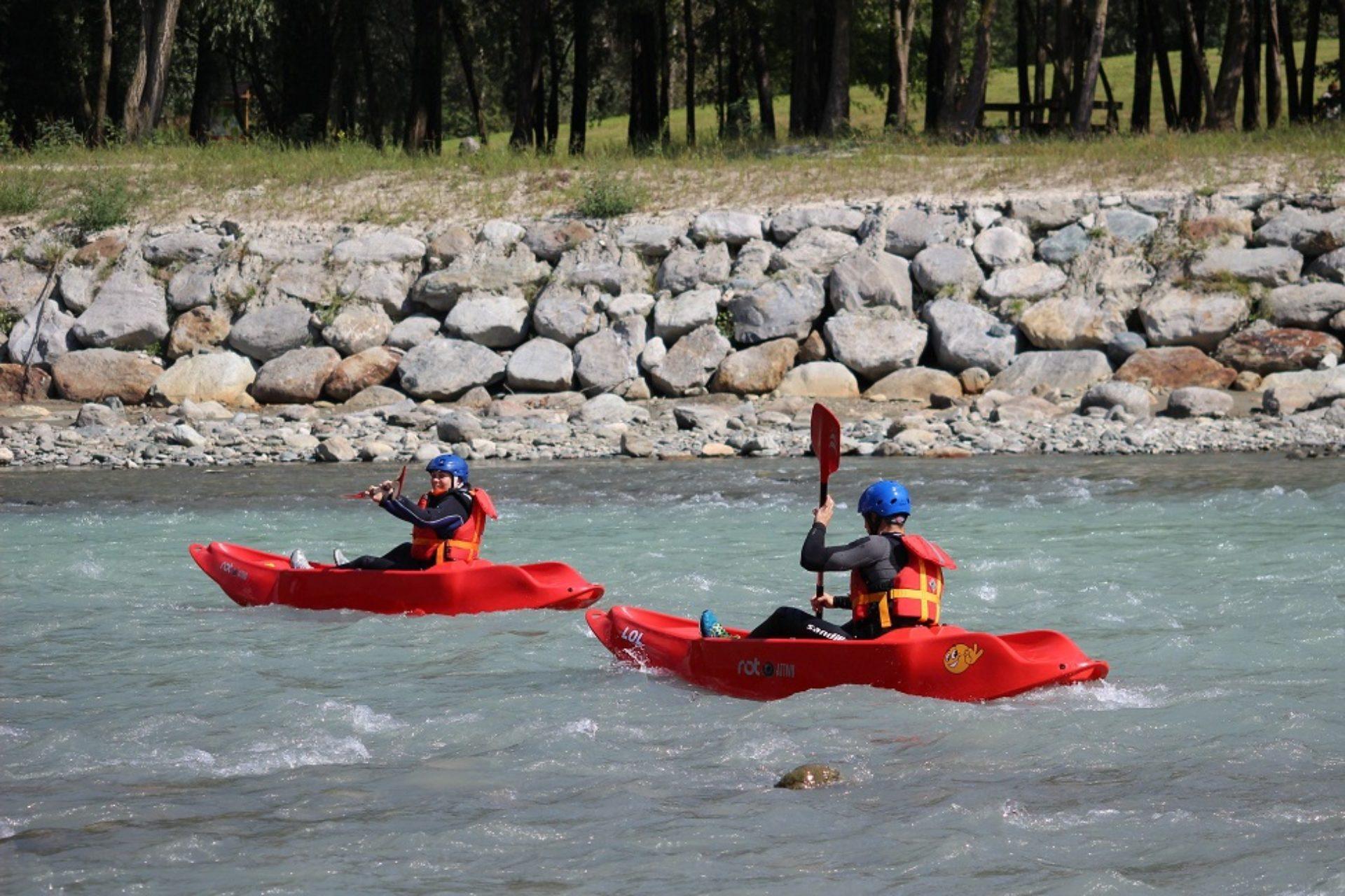 Canoa e kayak Fiume Adda