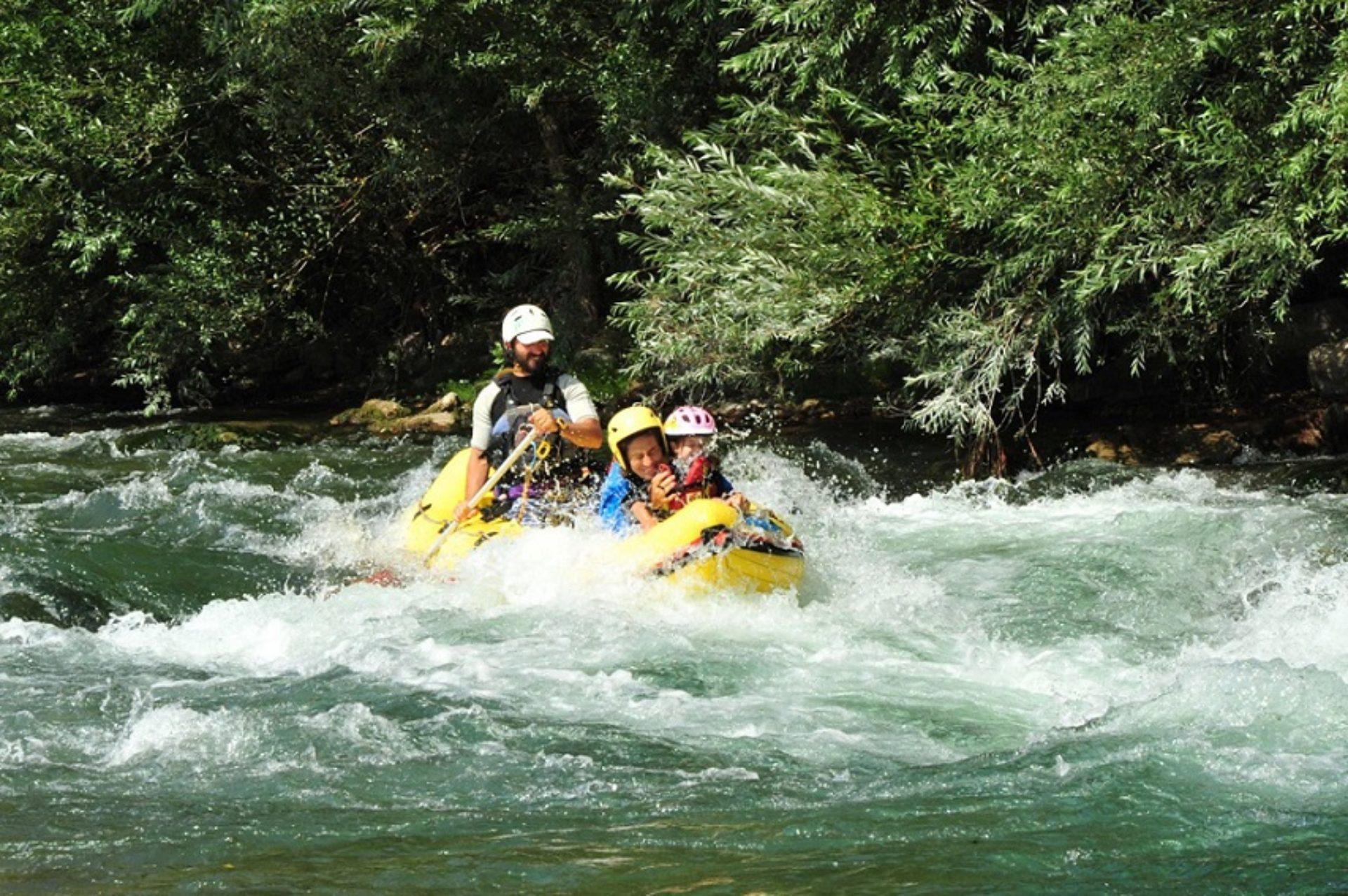 Canoa e kayak Fiume Tanagro
