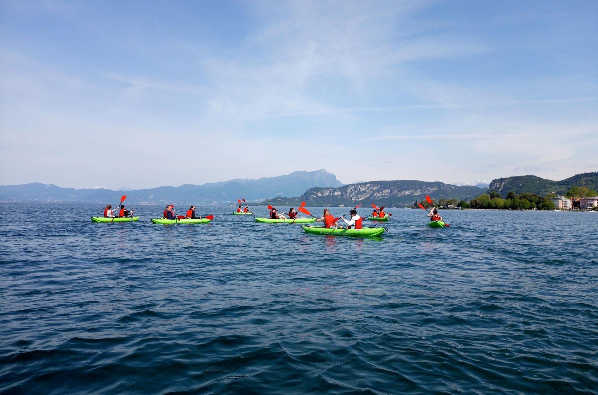 Canoa e kayak Lago di Garda
