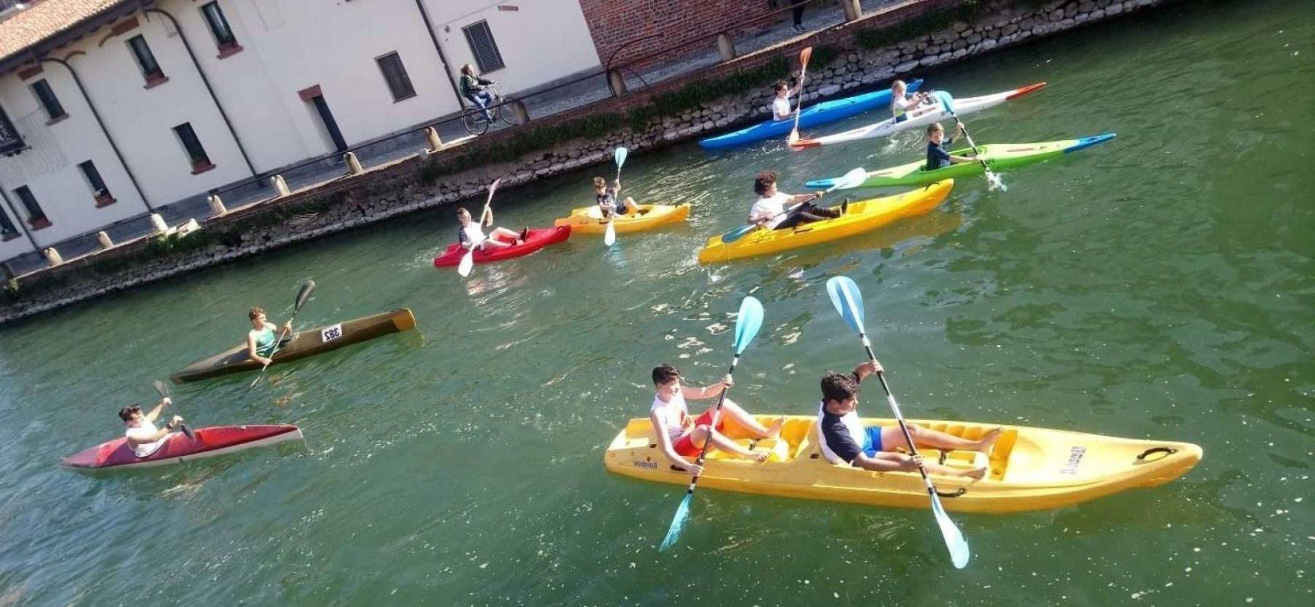 Canoa e kayak Lombardia