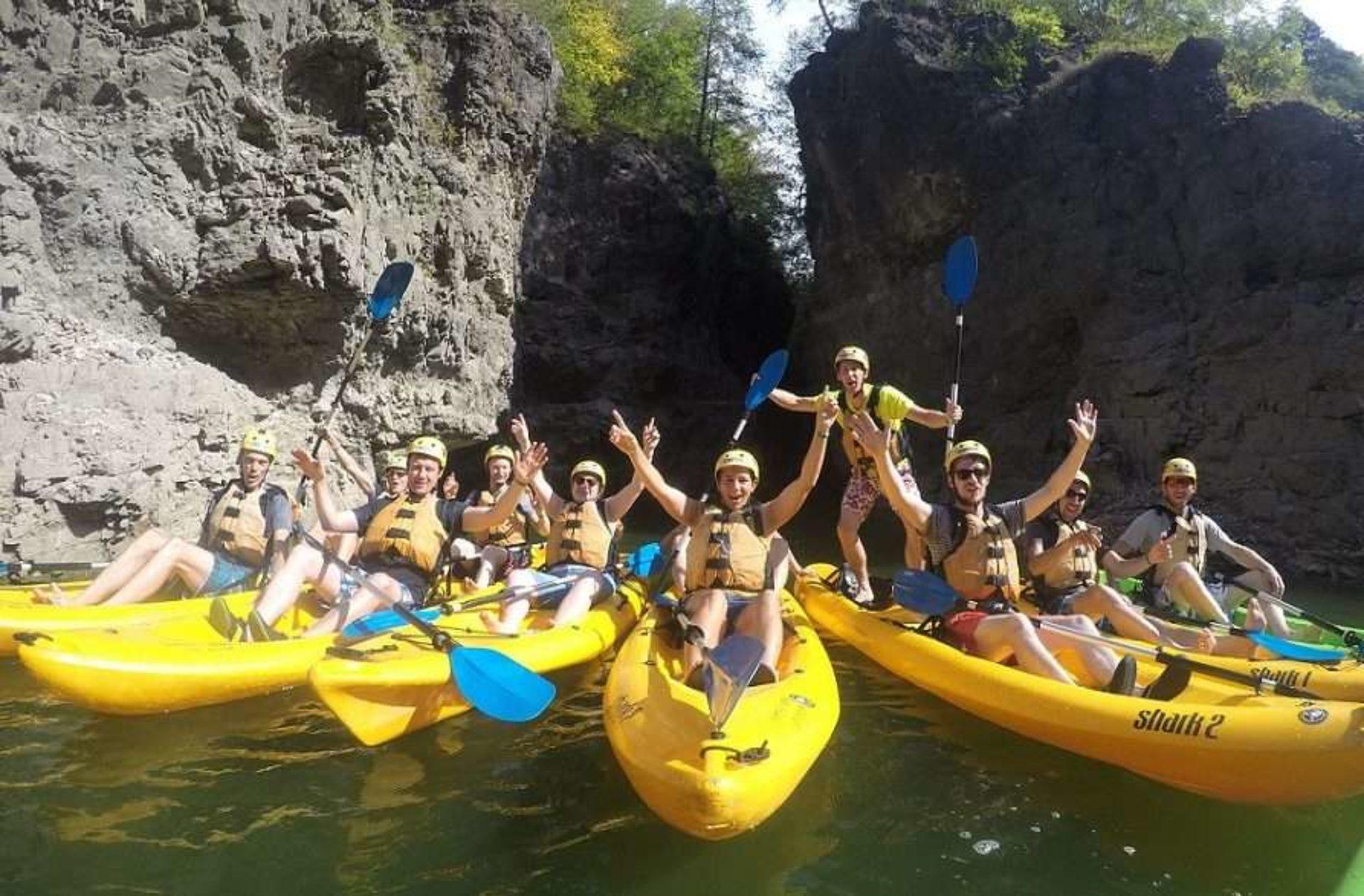 Canoa e kayak Parco Fluviale Novella