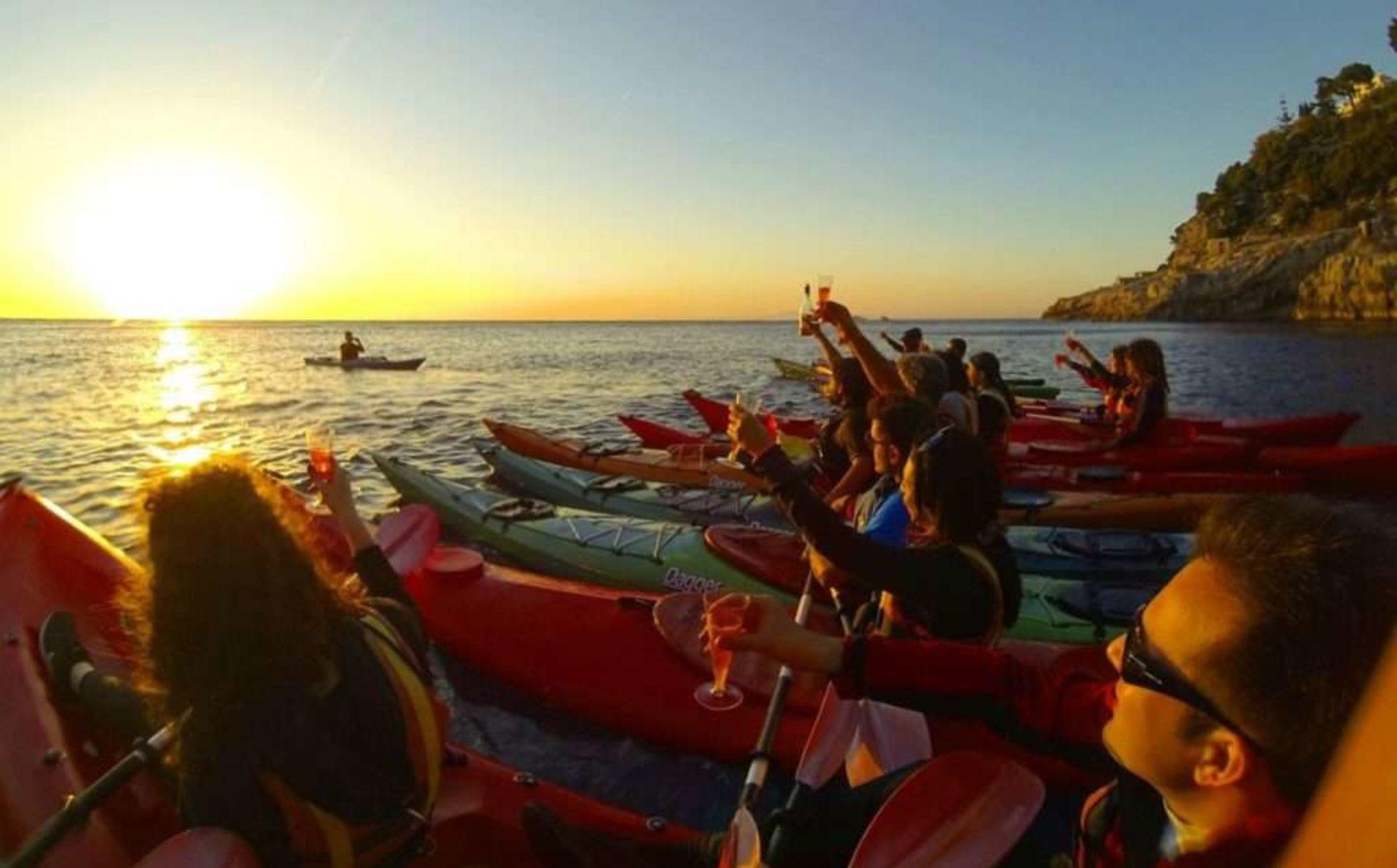 Canoa e kayak Sorrento
