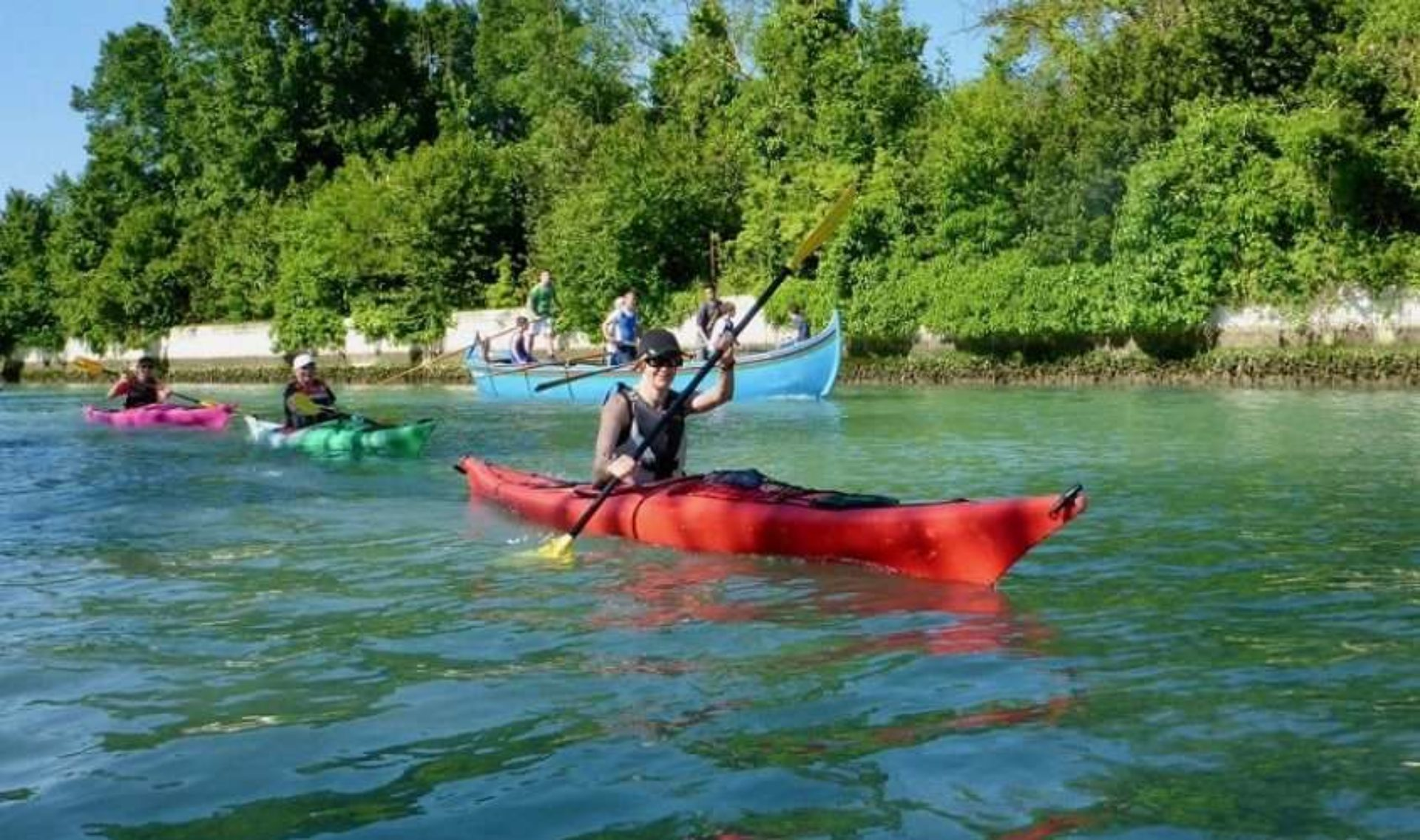 Canoa e kayak Venezia