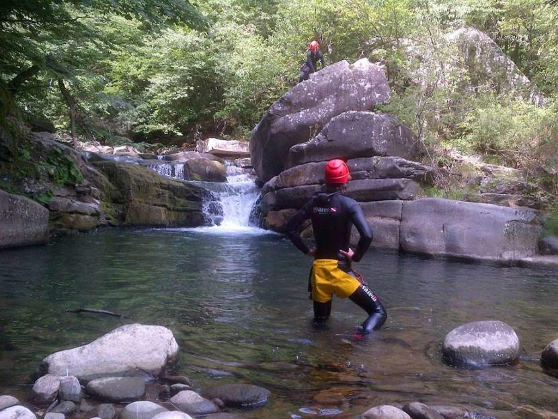 Canyoning Appennino Reggiano
