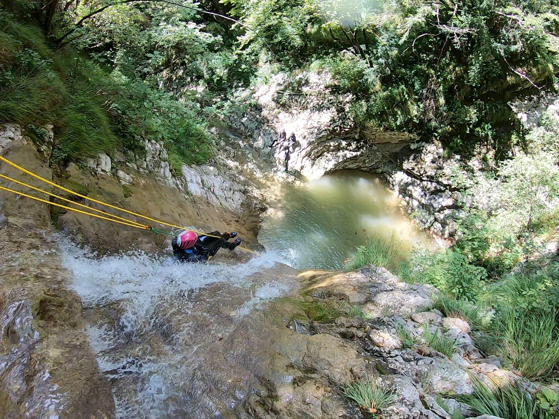 Canyoning Campione del Garda