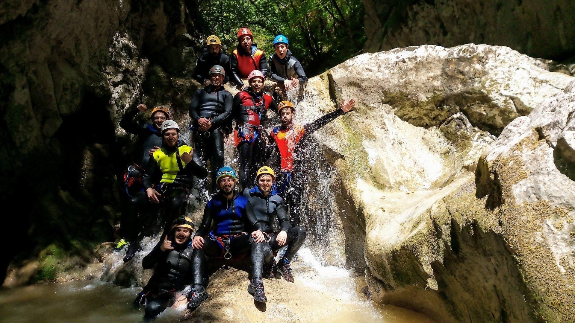 Canyoning Terni