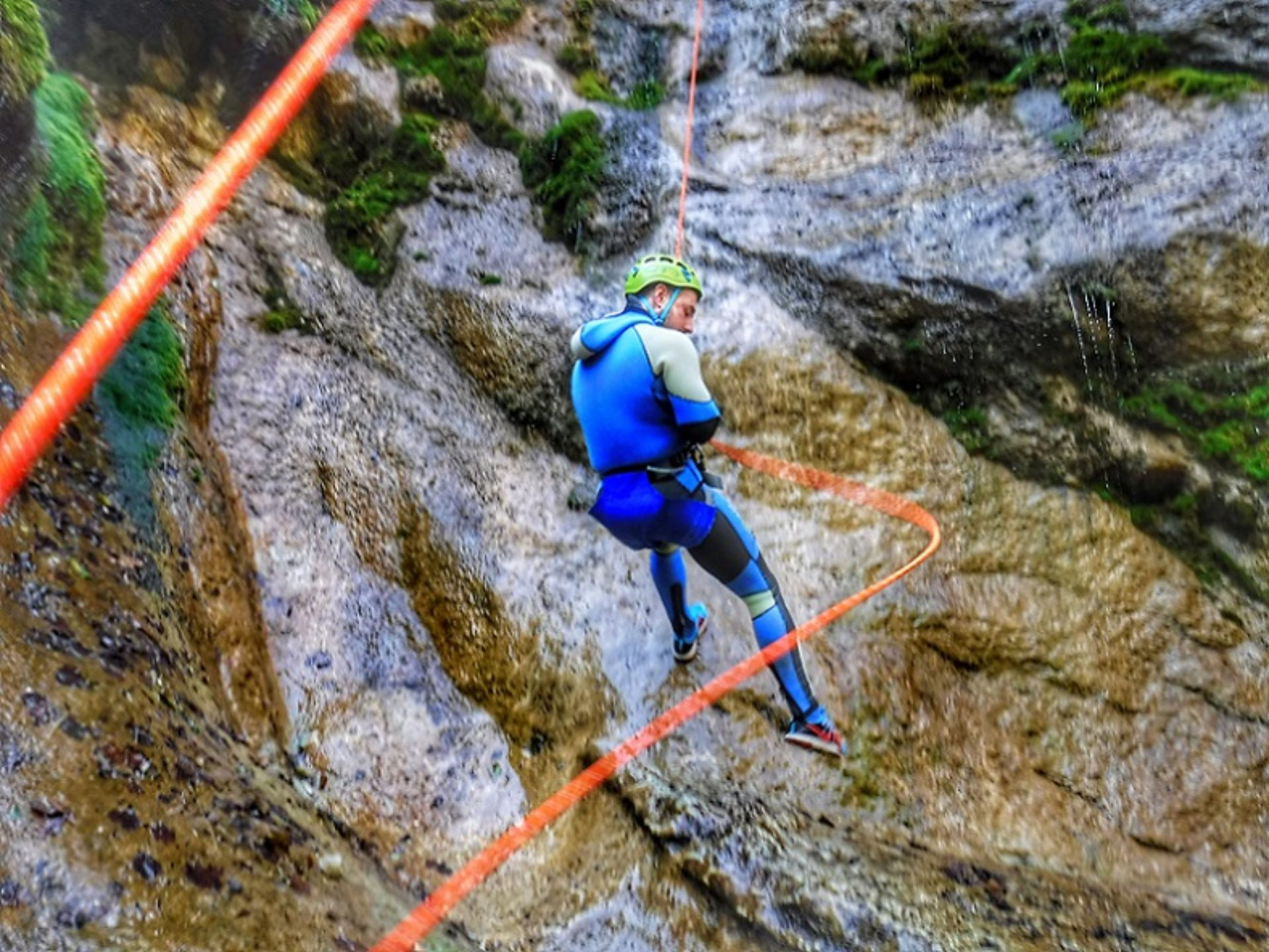 Canyoning Torrente Chalamy