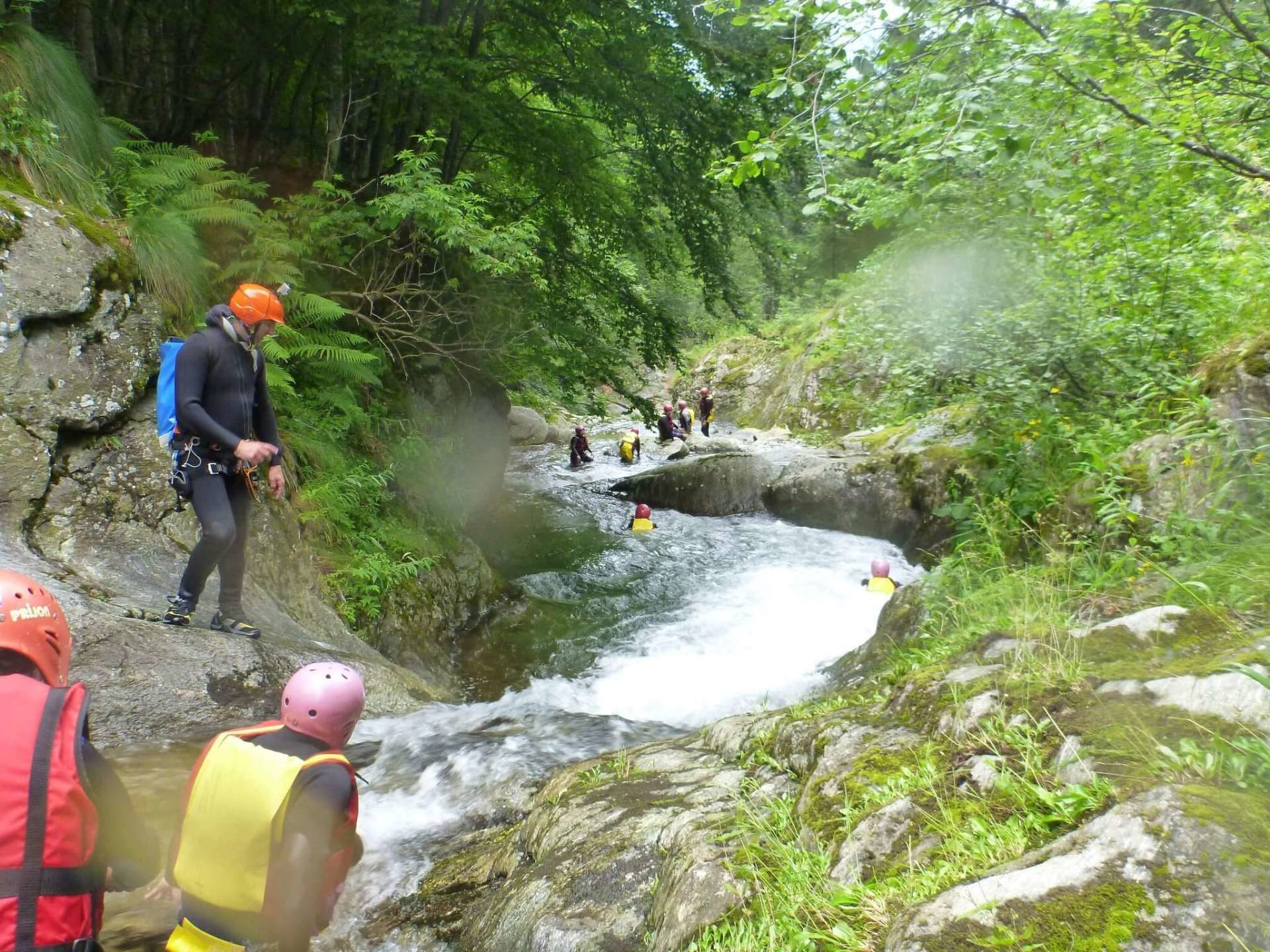 Canyoning Val Chisone