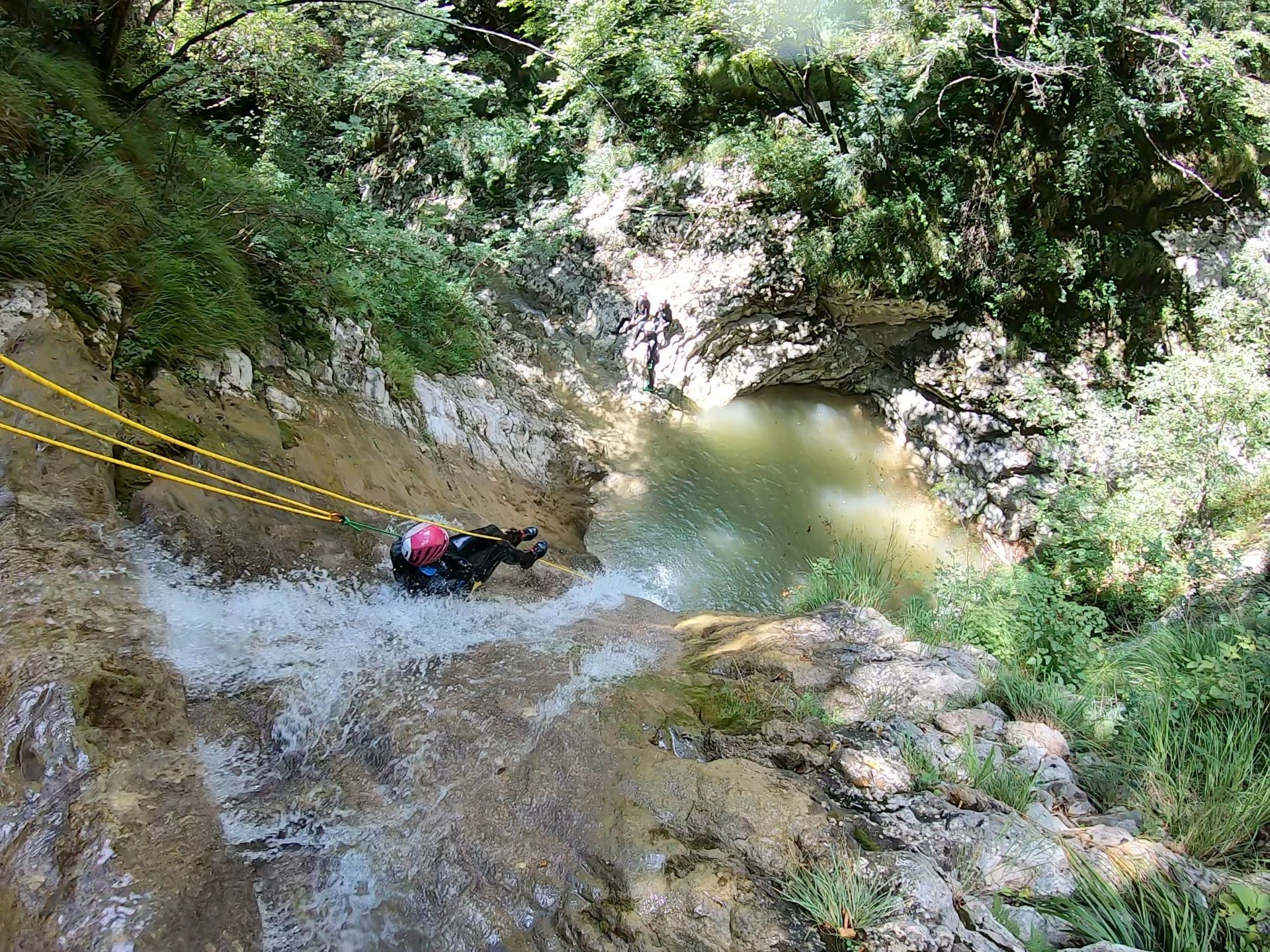 Canyoning Vione