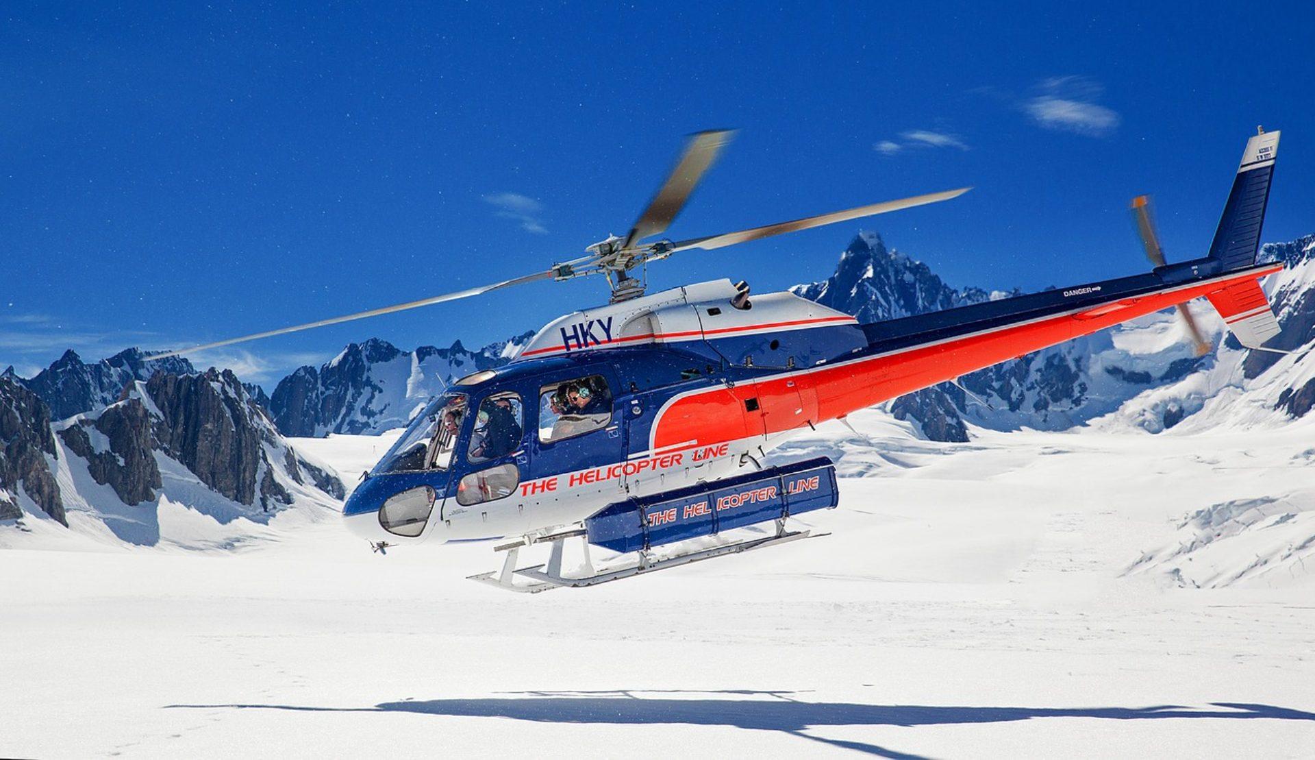 Elicottero Aosta