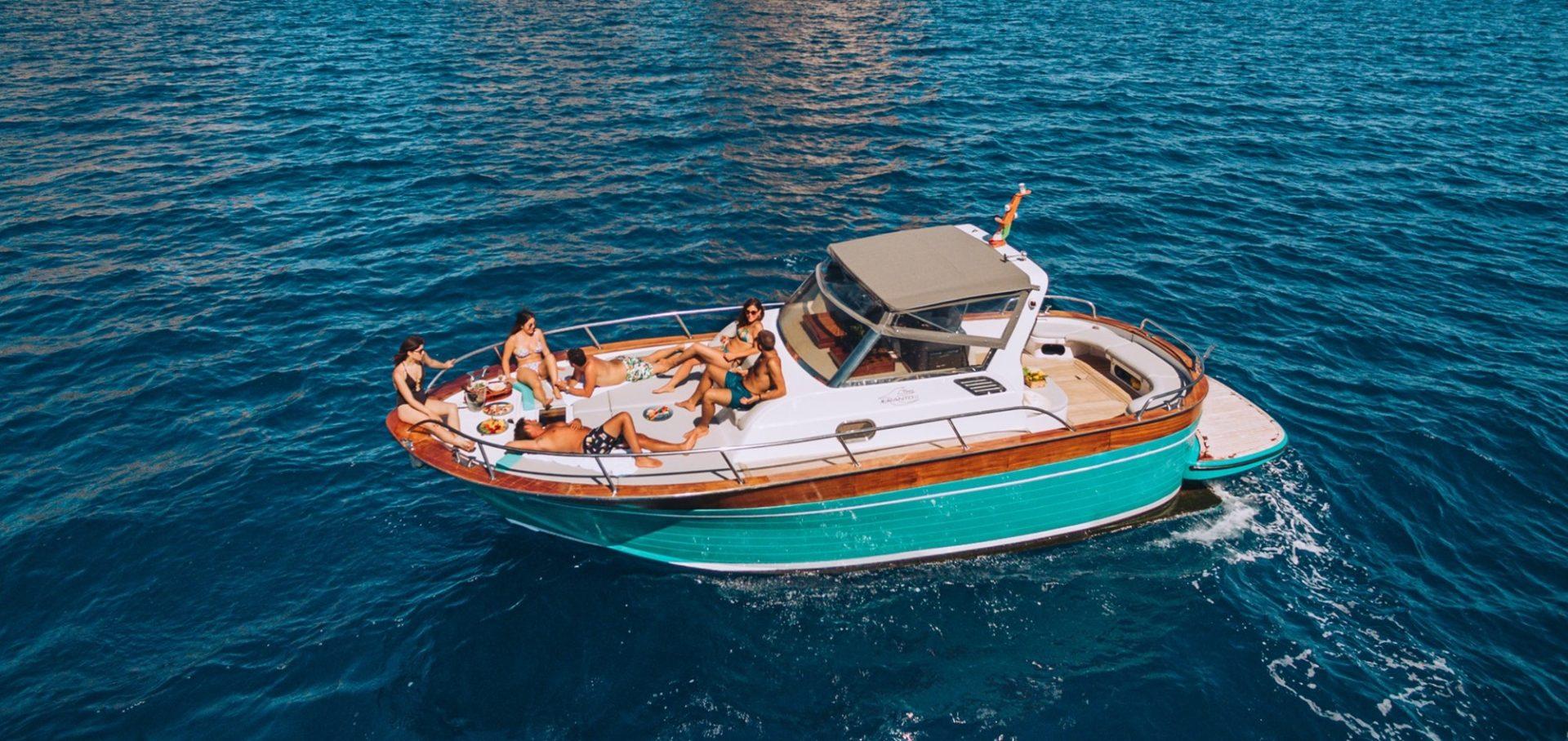 Escursioni in barca Golfo di Napoli