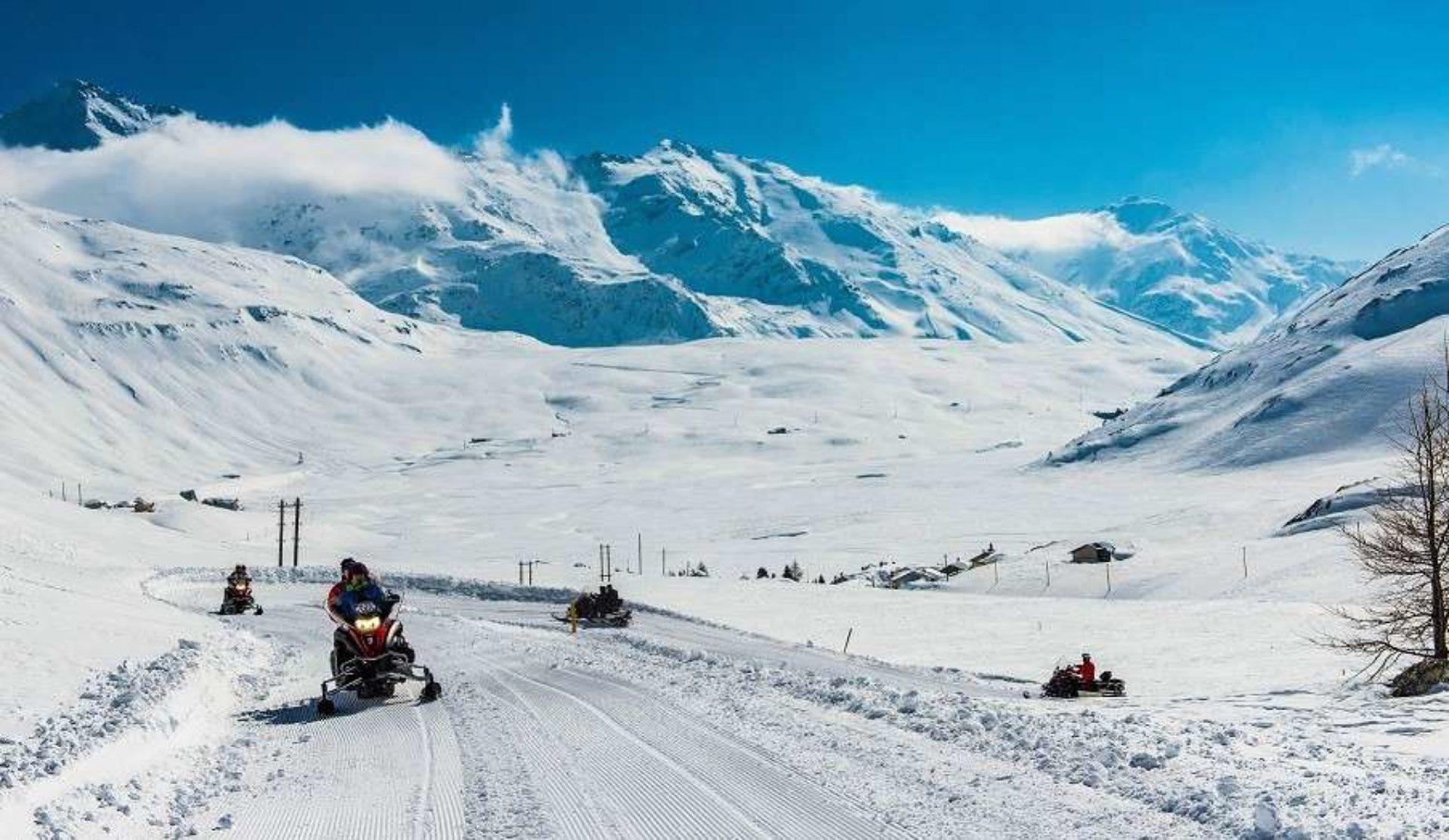 Escursioni in motoslitta Sondrio
