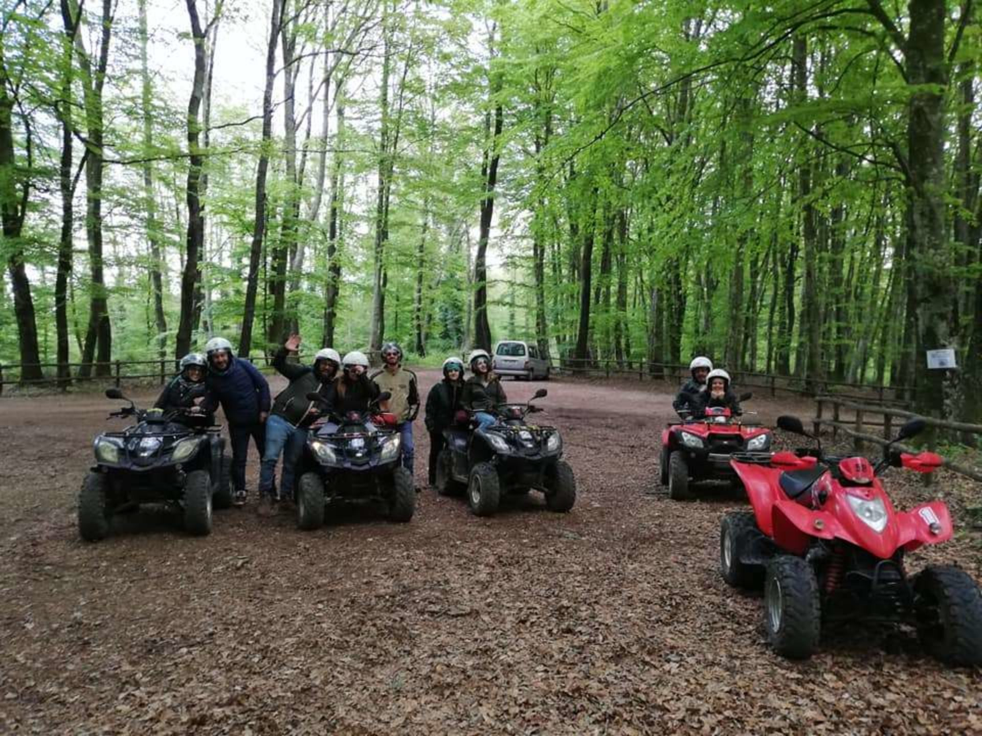 Escursioni in quad Lazio