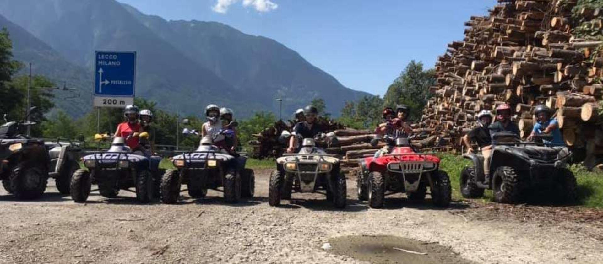 Escursioni in quad Sondrio