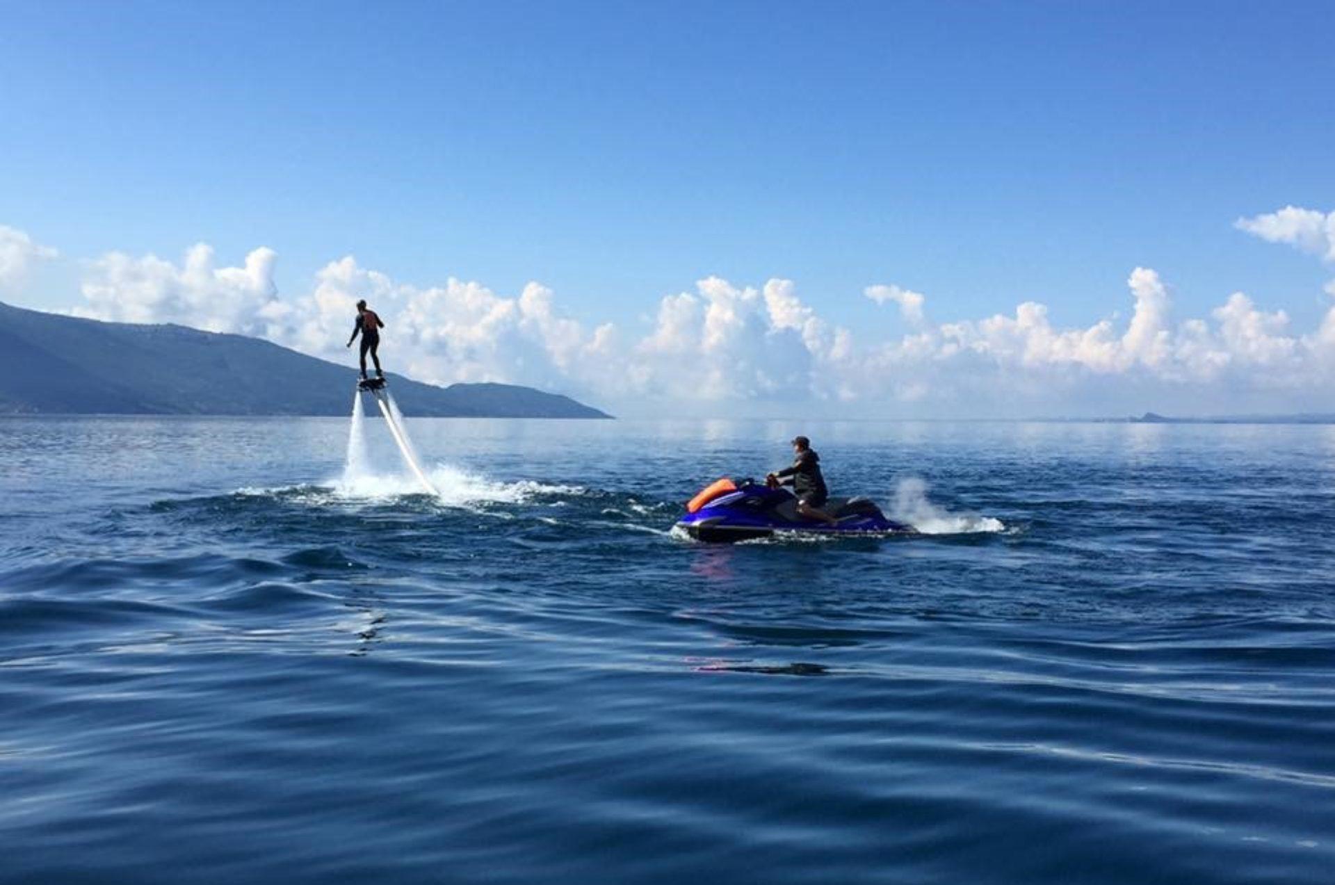 Flyboard e Jetpack Lago di Garda