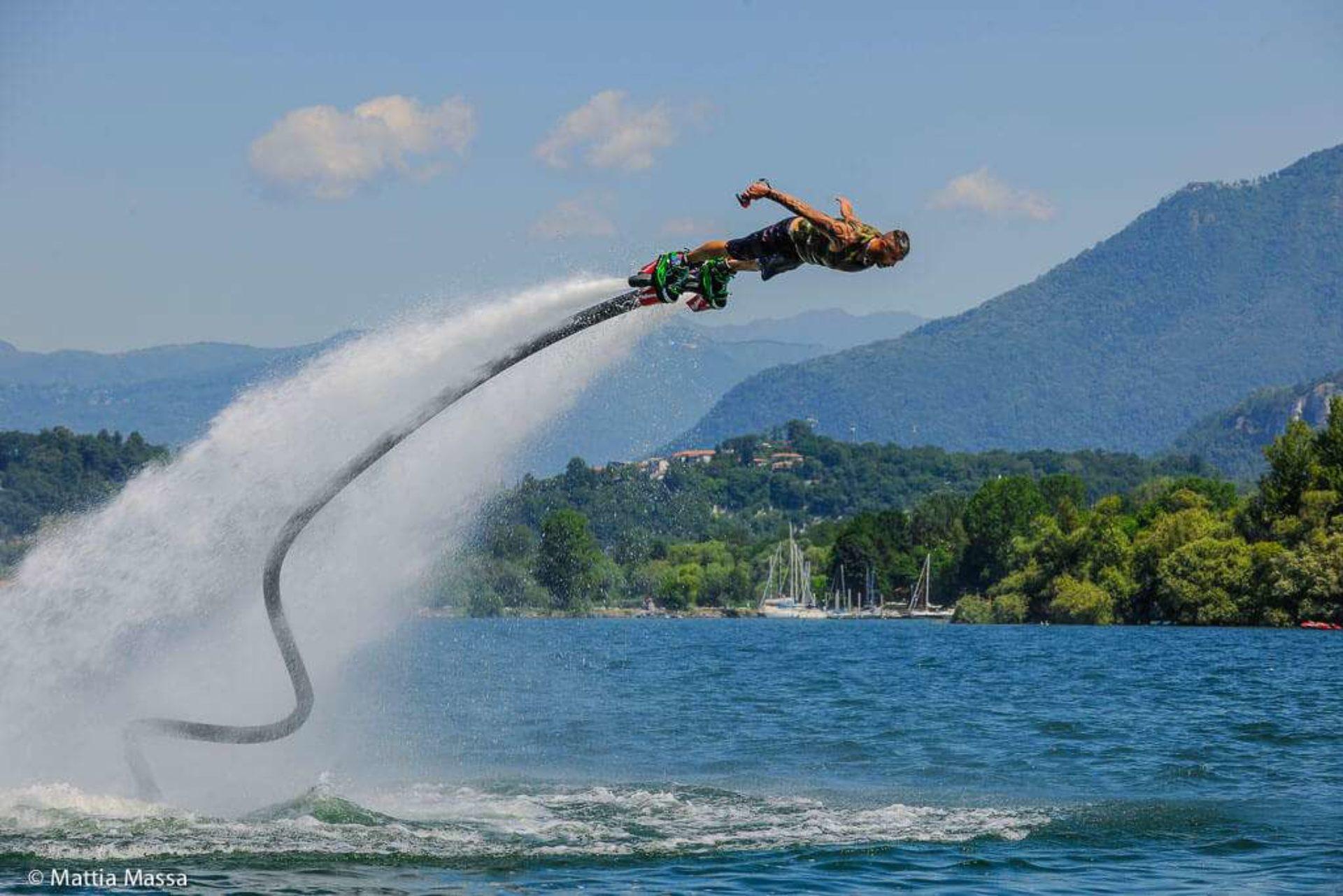 Flyboard e Jetpack Lago Maggiore
