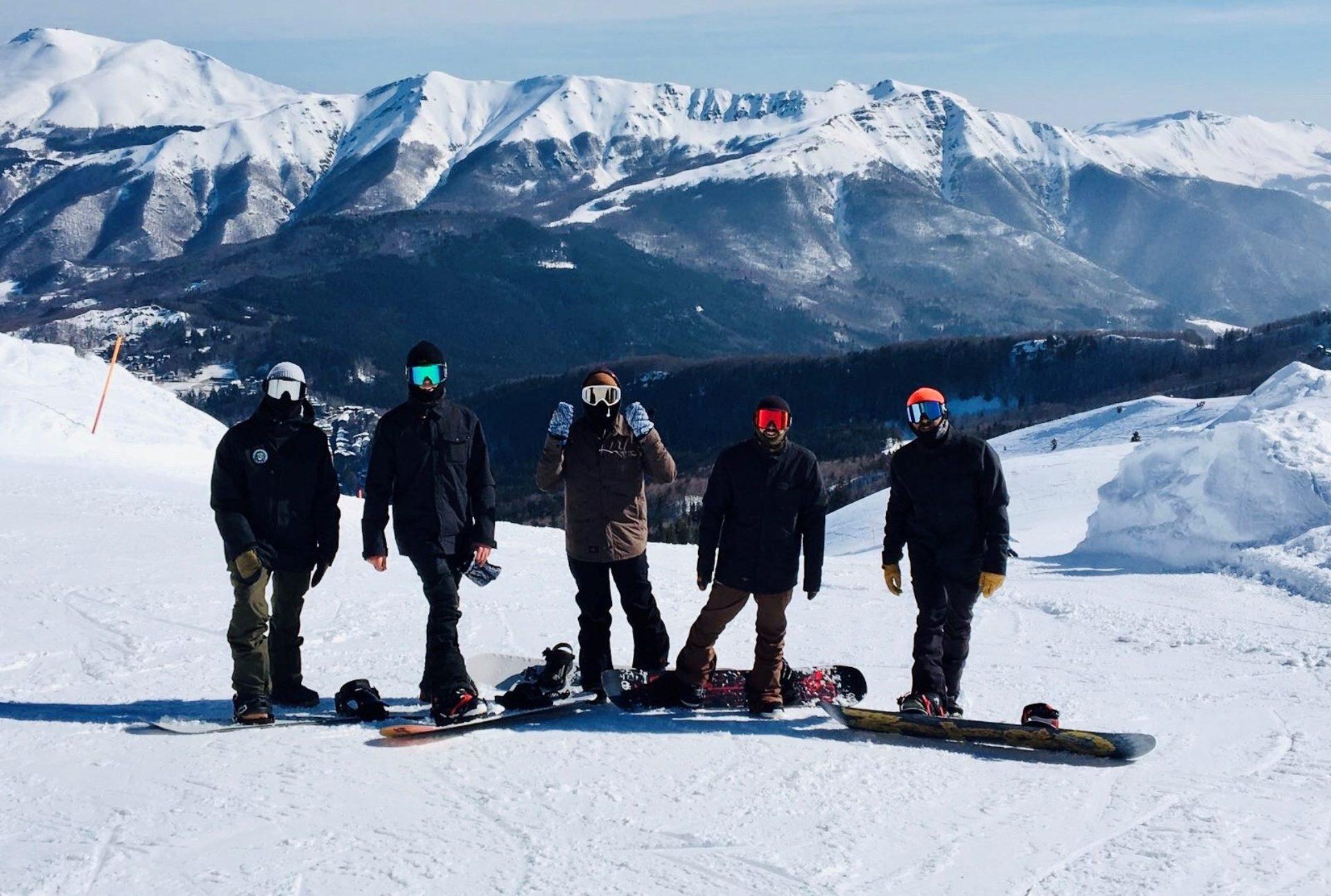 Lezioni di snowboard Toscana