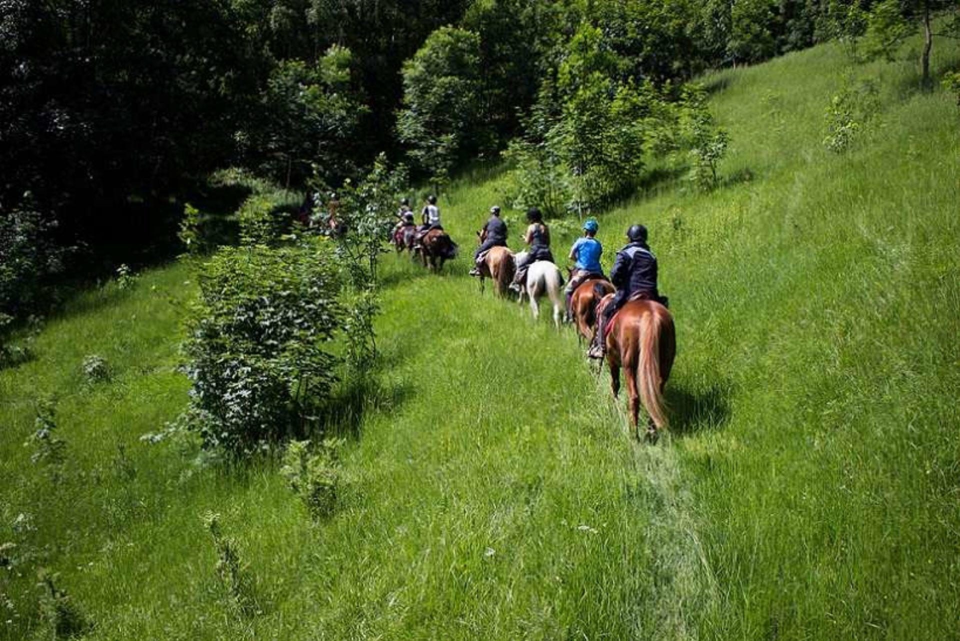 Passeggiate a cavallo Cuneo