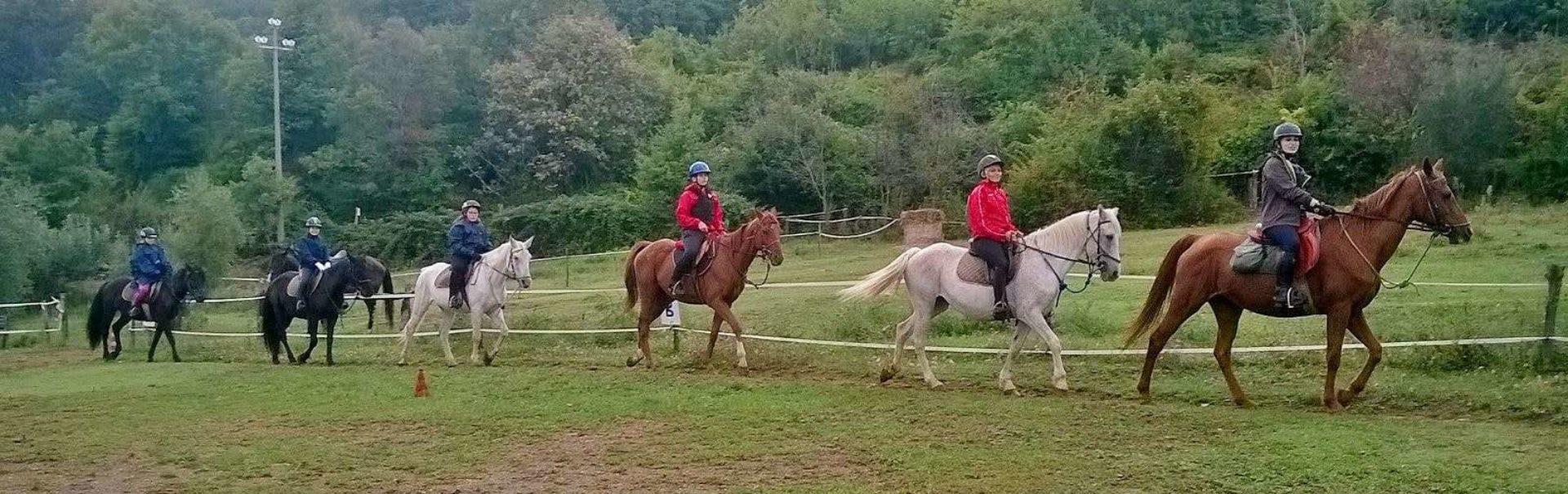 Passeggiate a cavallo Toscana
