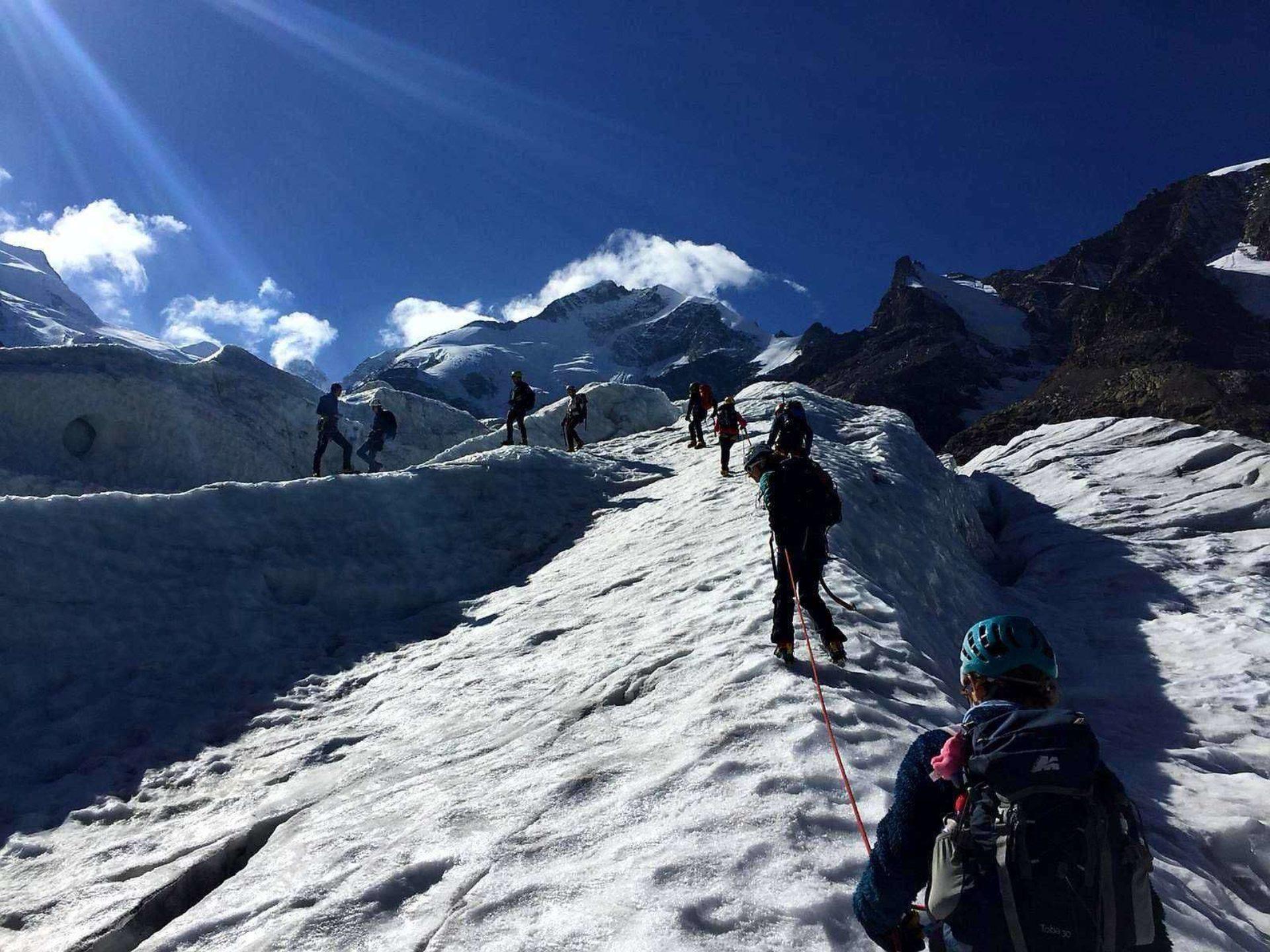 Progressione su ghiaccio Lombardia