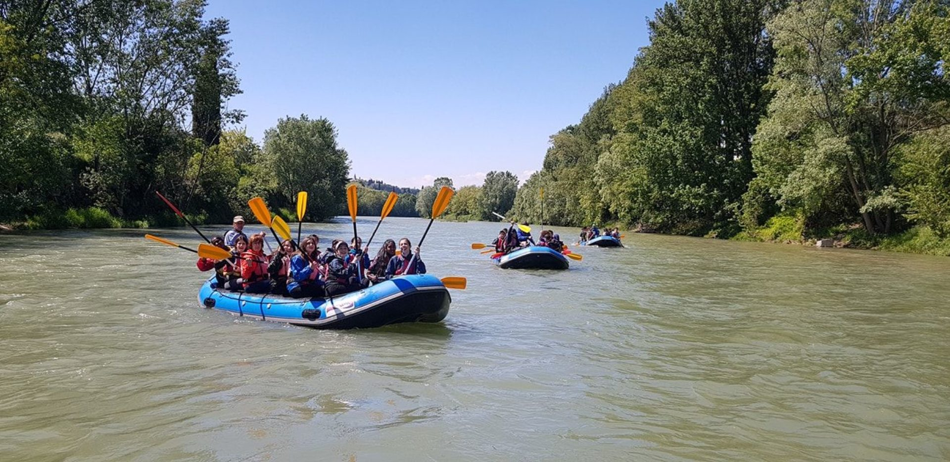 Rafting Fiume Adige