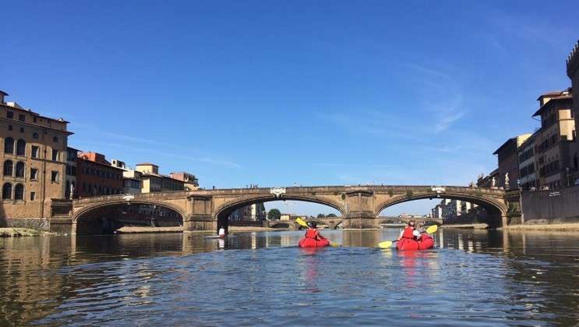 Rafting Fiume Arno