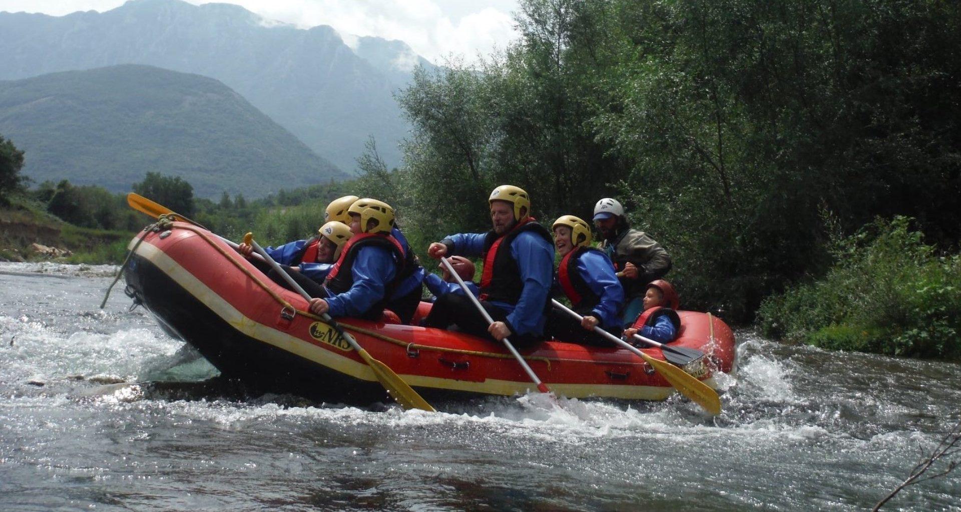 Rafting Fiume Calore