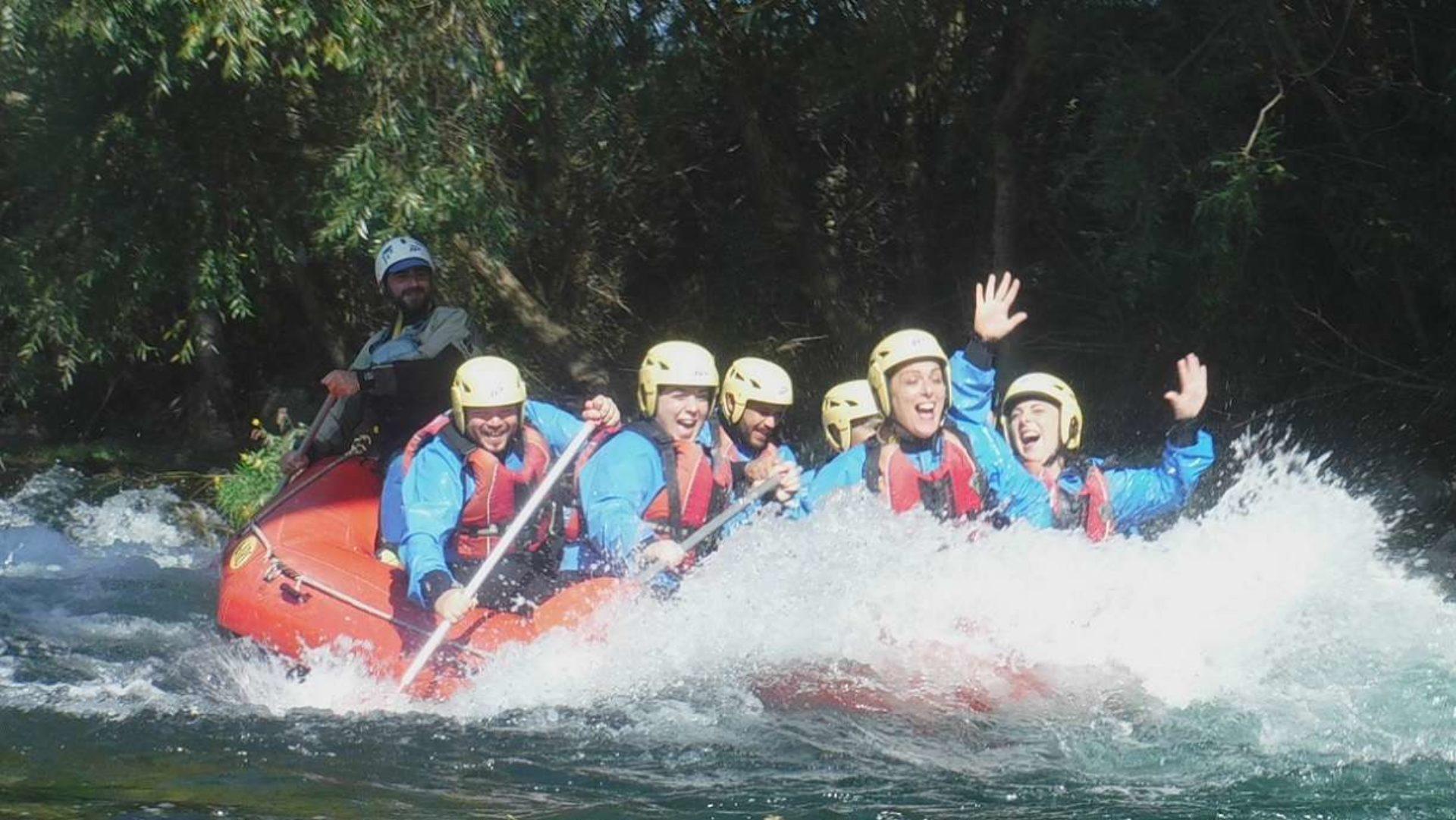 Rafting Fiume Sele