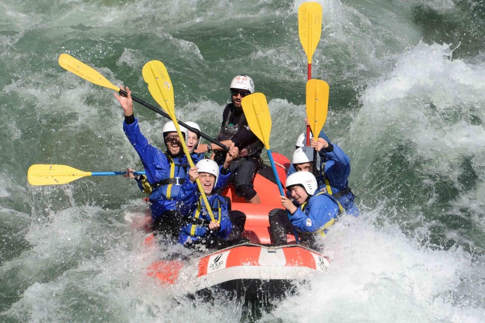 Rafting Piemonte
