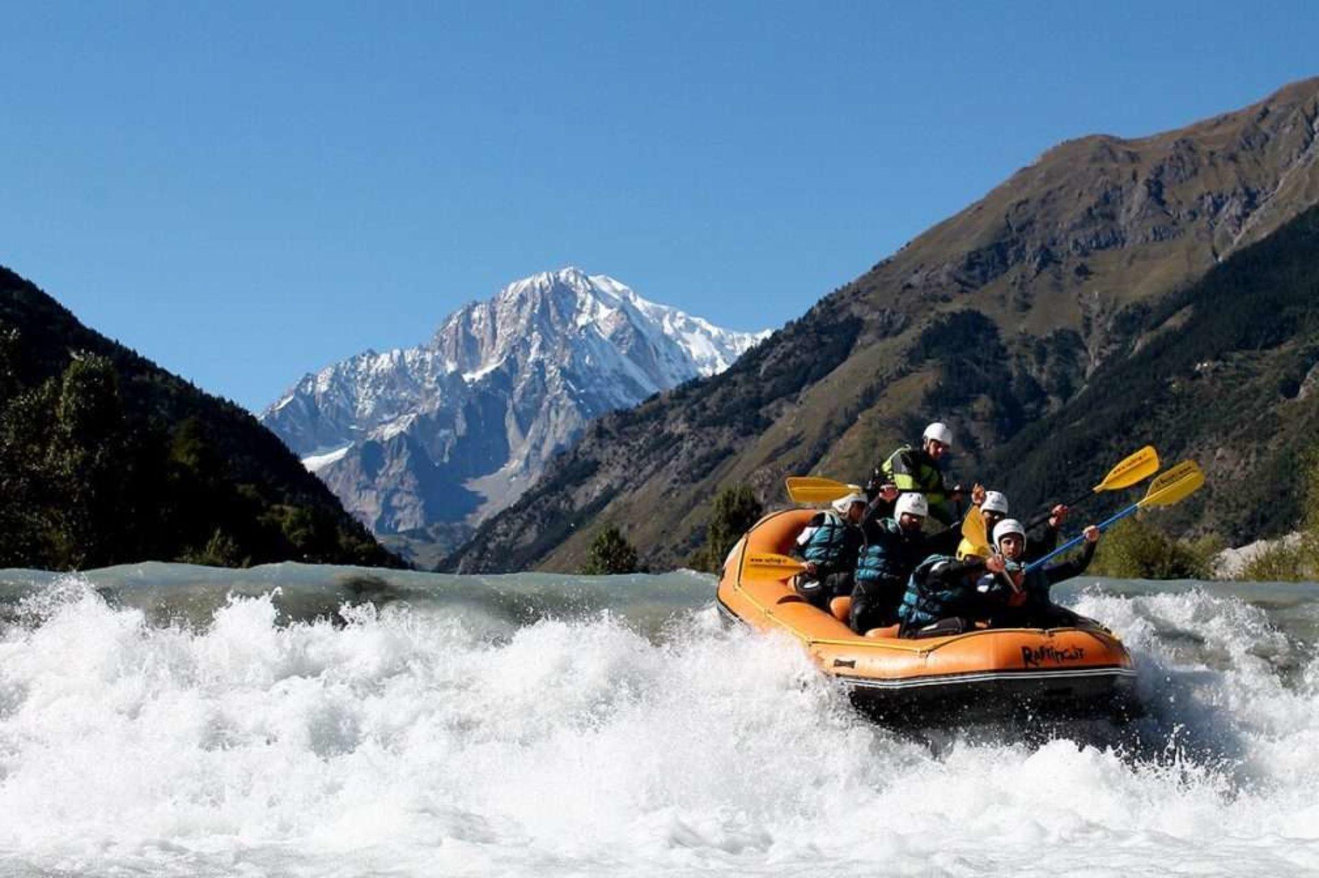 Rafting Pré-Saint-Didier