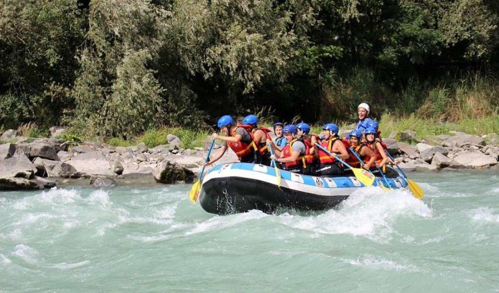 Rafting Valtellina