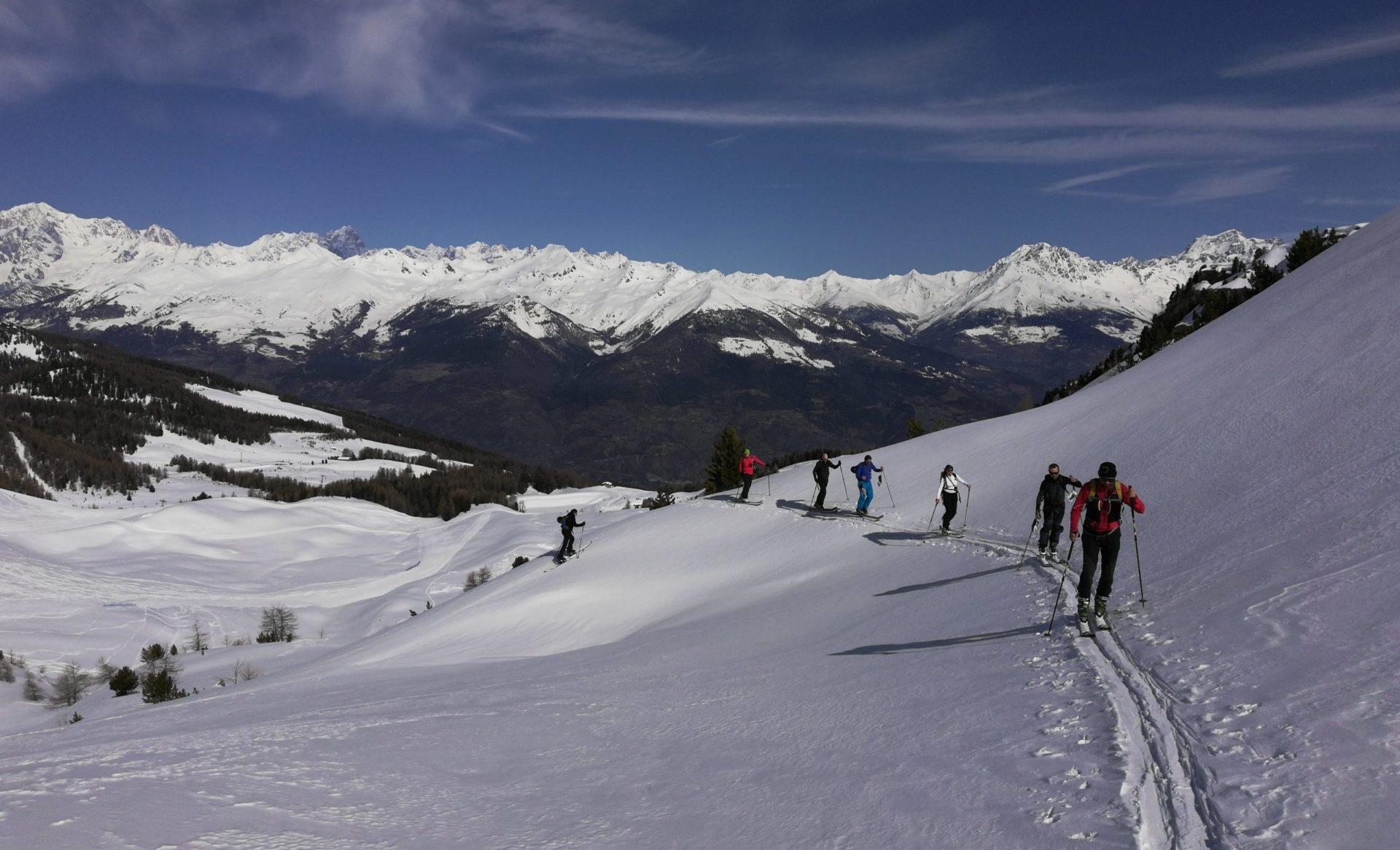 Sci-alpinismo Valle d'Aosta