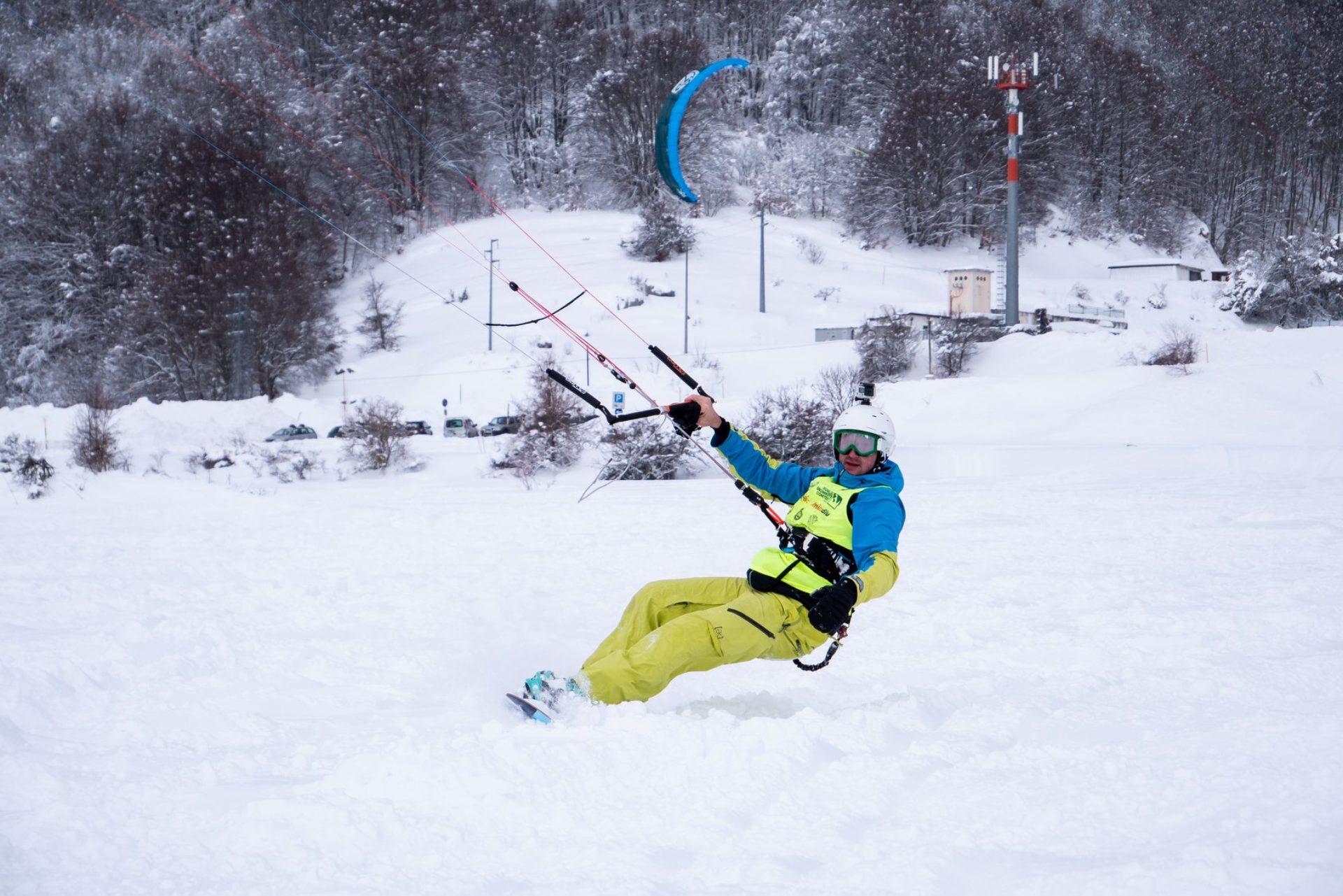 Snowkite Roccaraso