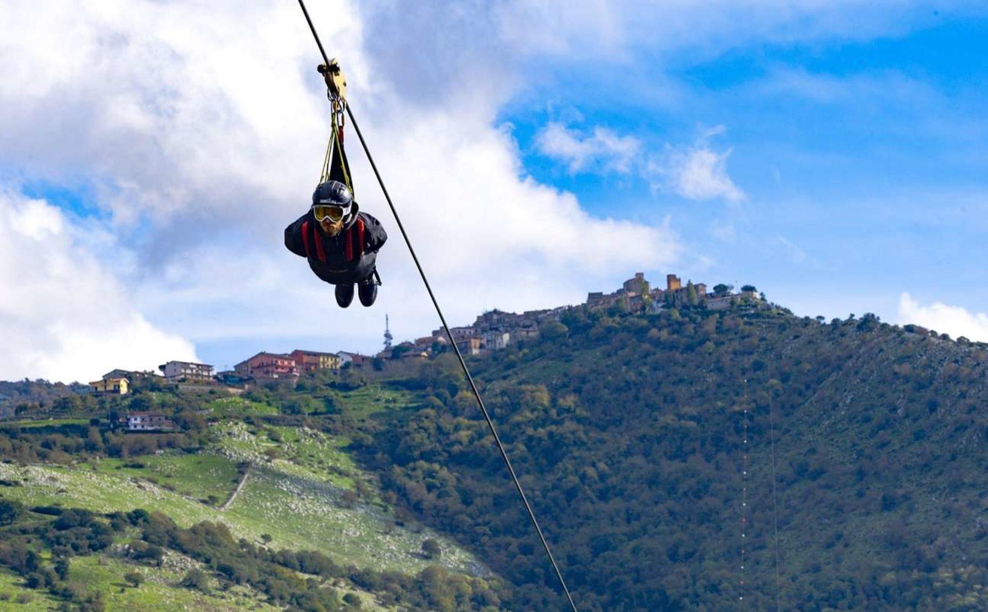 Zipline Rocca Massima