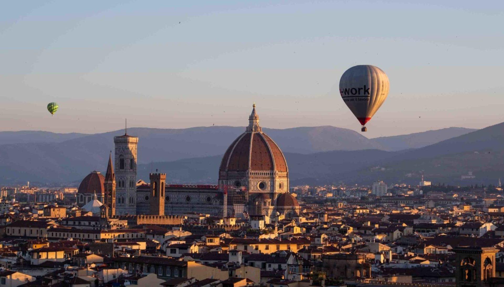 Mongolfiera Firenze