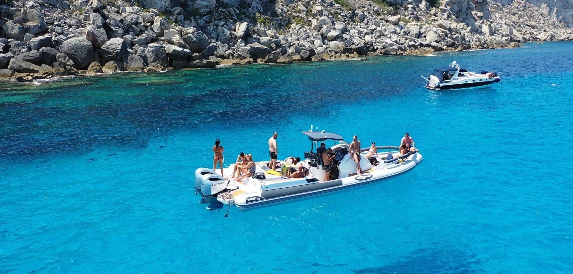 Escursioni in barca Isola di Levanzo
