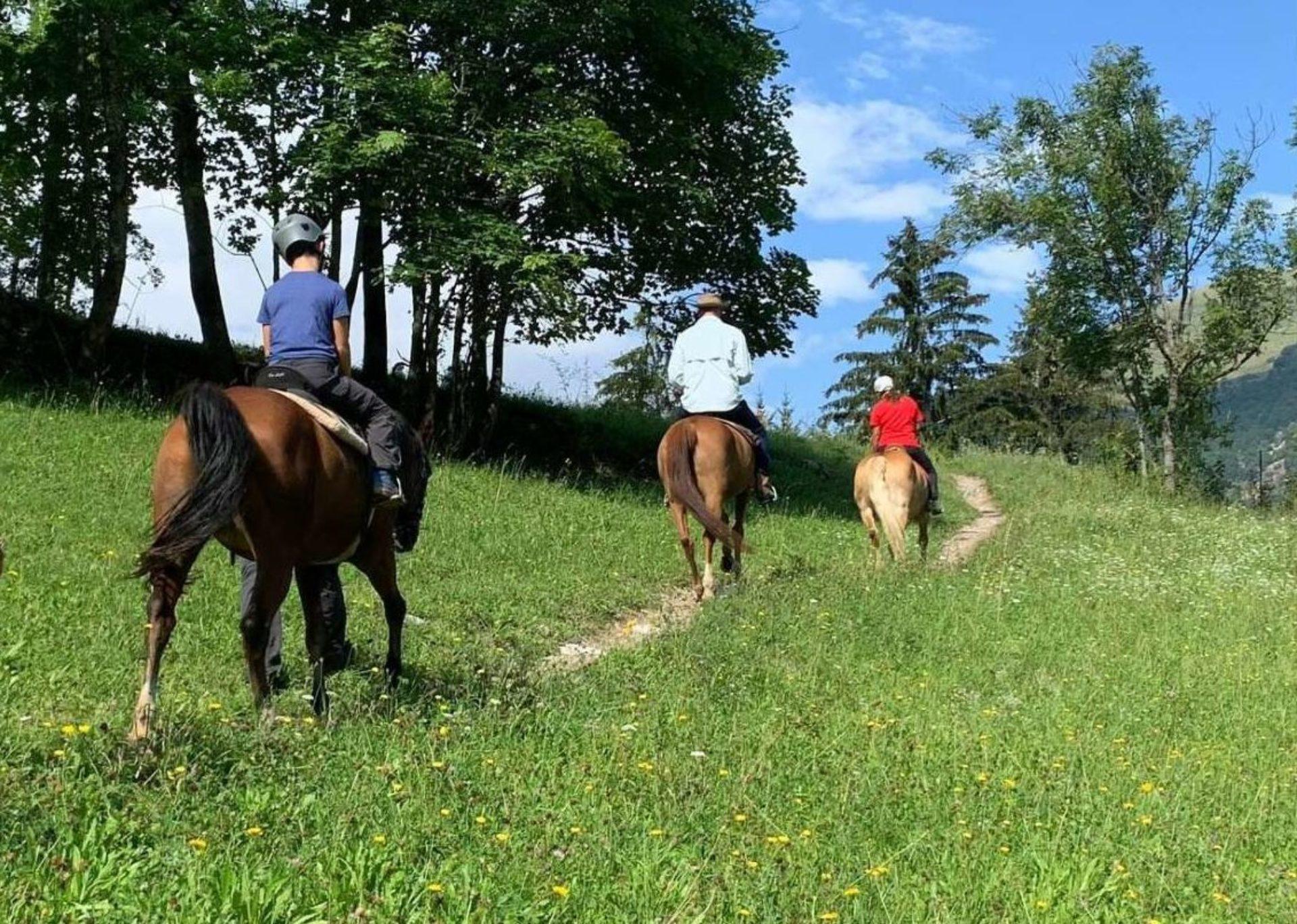 Passeggiate a cavallo Piemonte