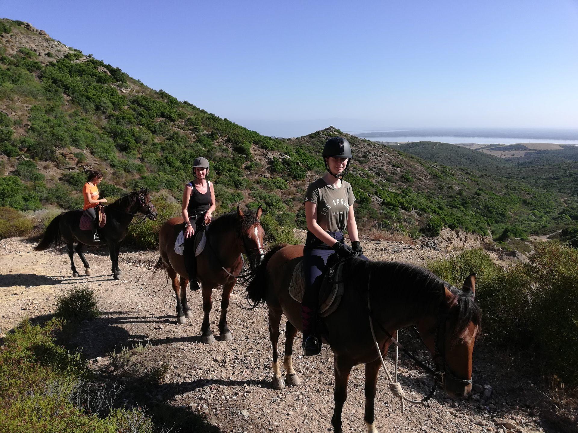 Passeggiate a cavallo Sardegna