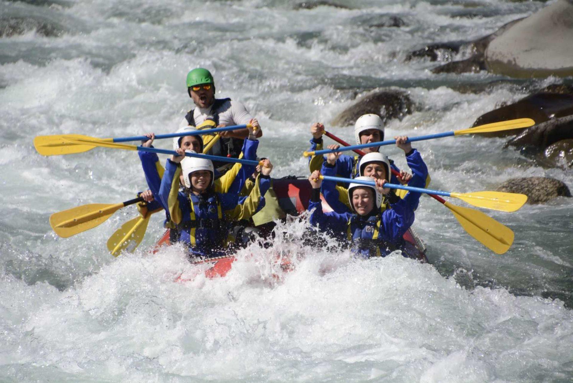 Rafting fiume Sesia