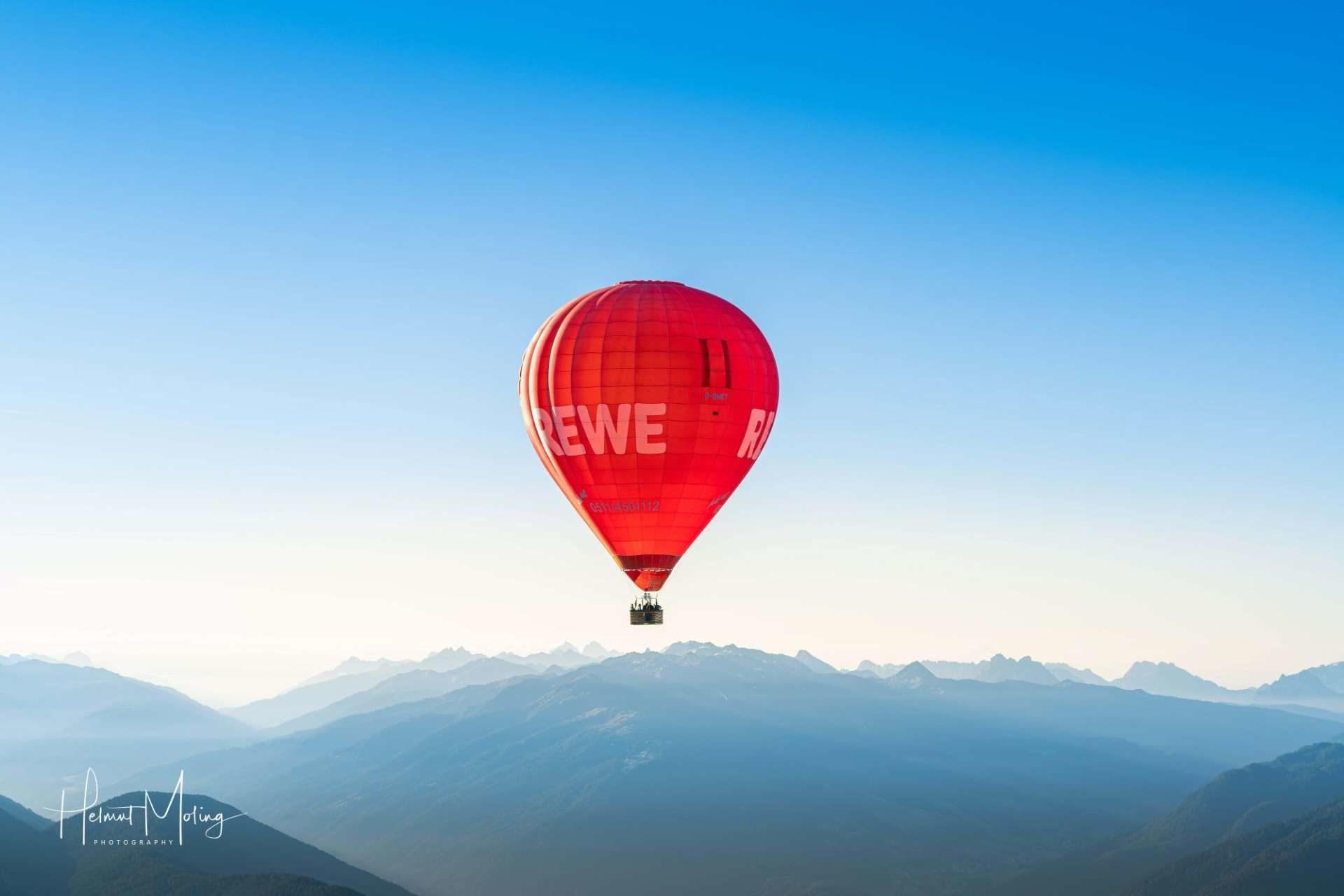 Mongolfiera Alto Adige
