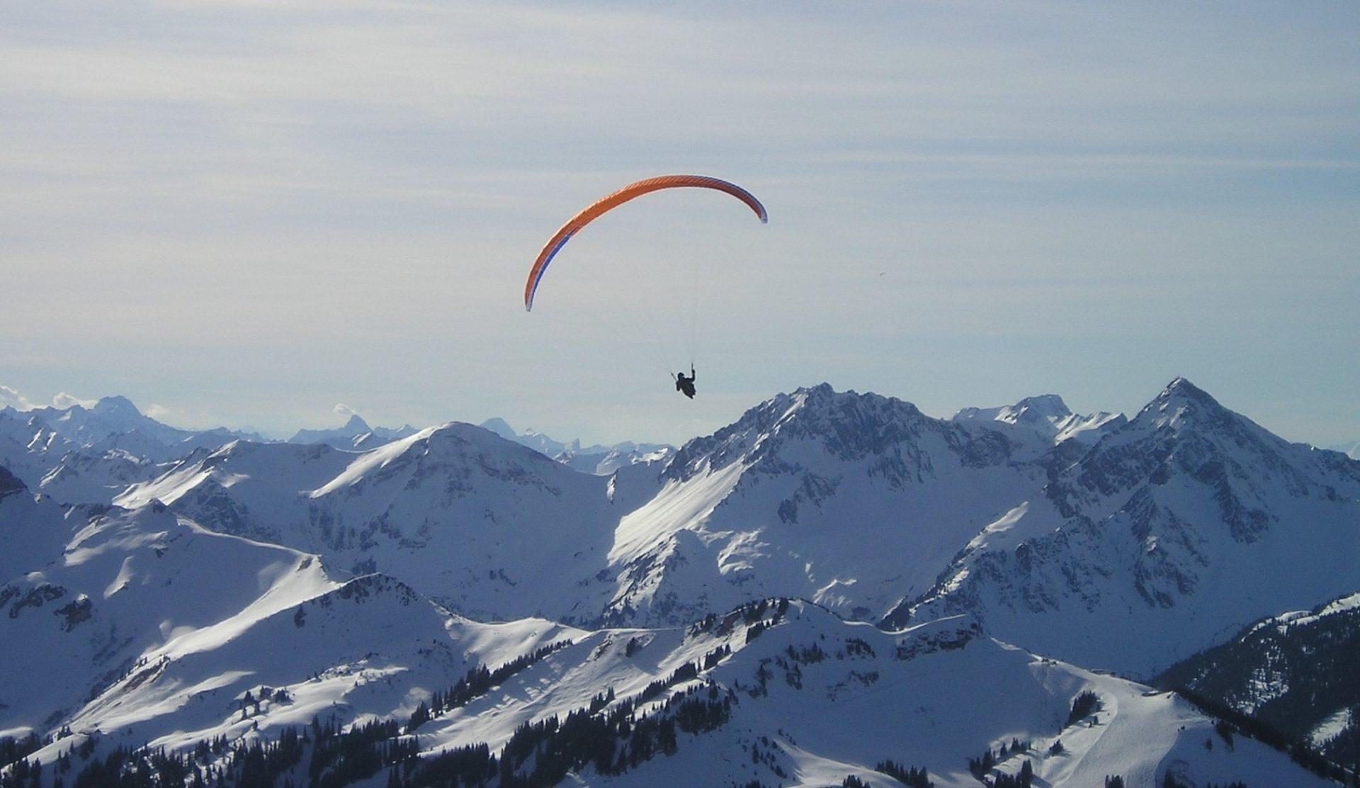 Parapendio Valle d'Aosta