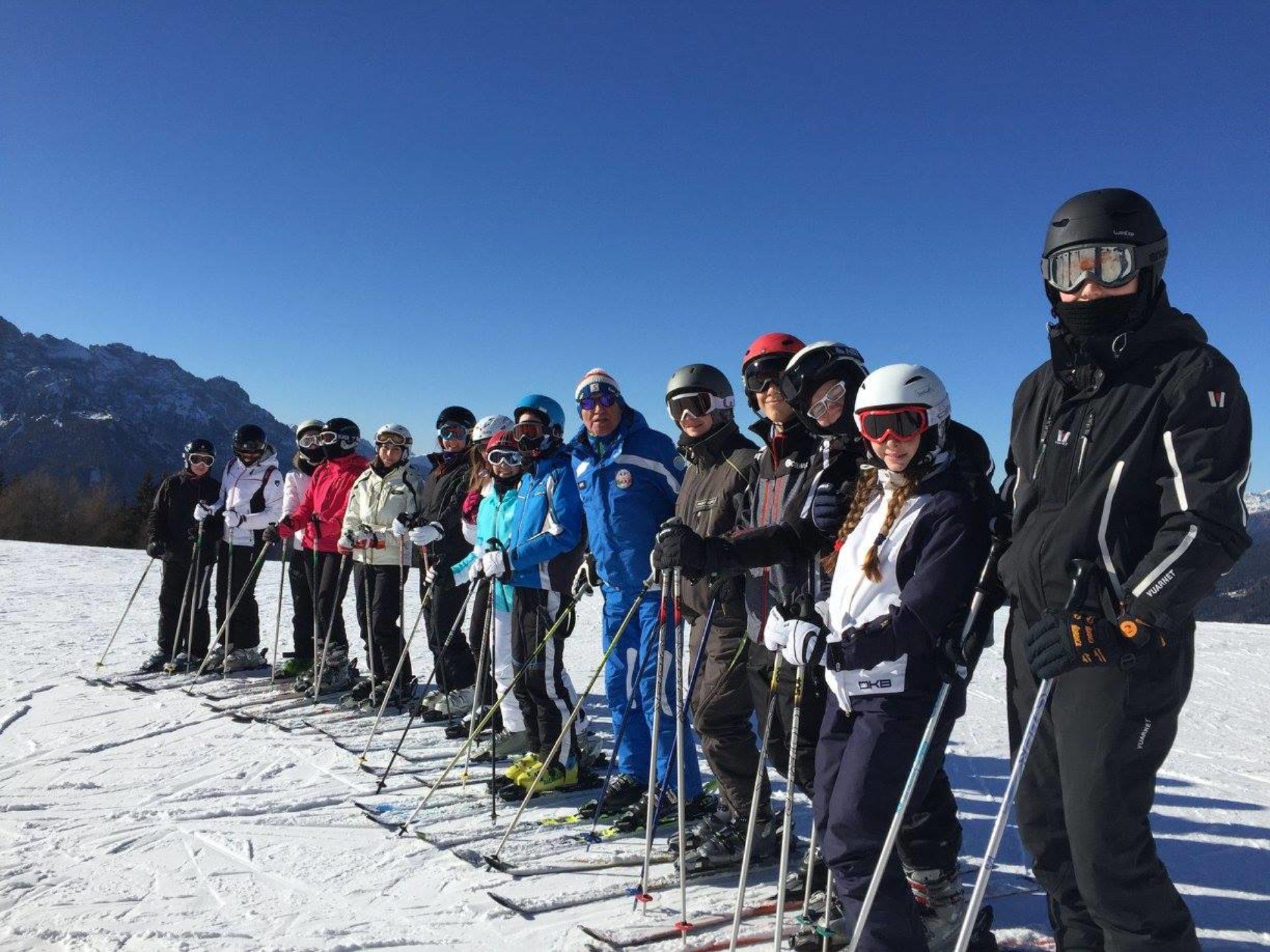 Lezioni di sci Dolomiti