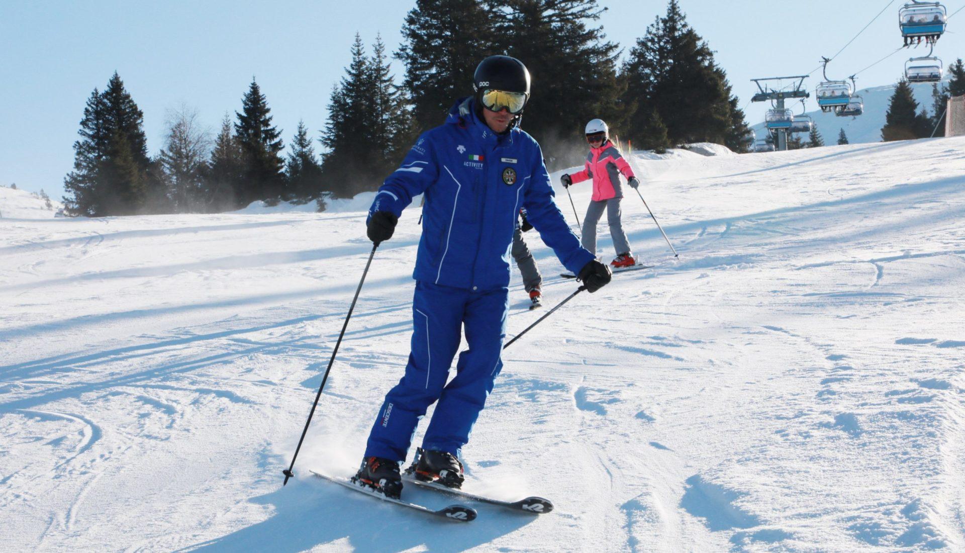 Lezioni di sci Fai della Paganella