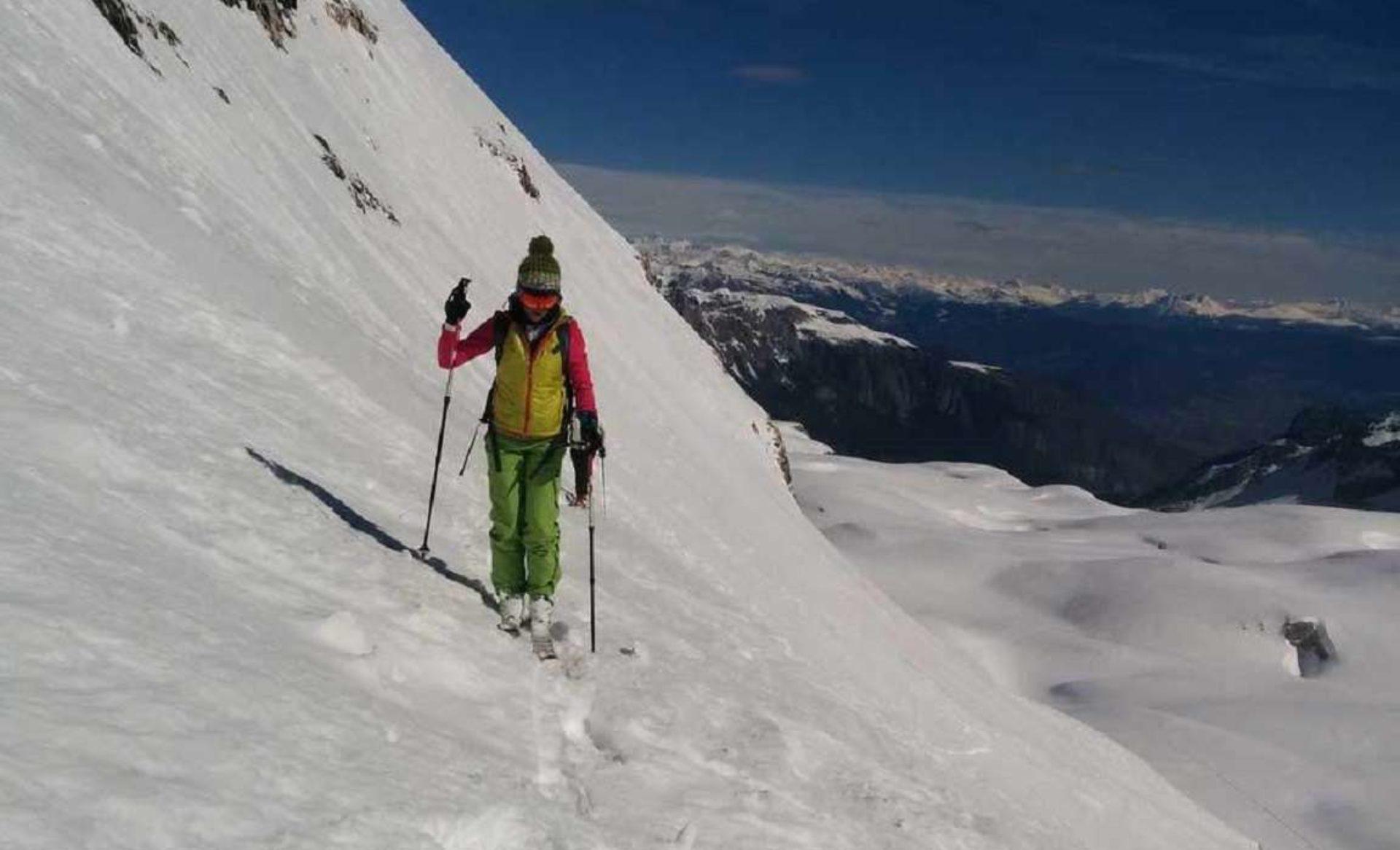 Sci-alpinismo Madonna di Campiglio