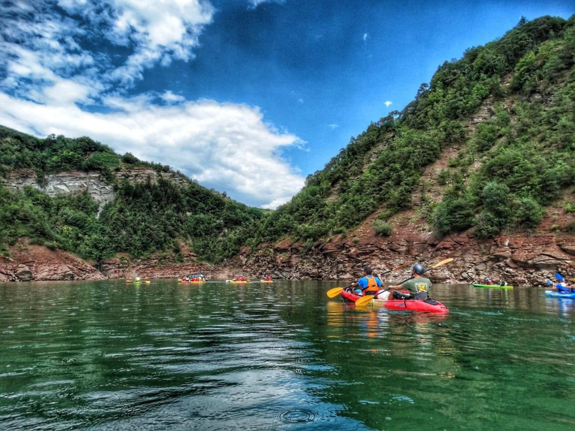 Canoa e kayak Trentino-Alto Adige
